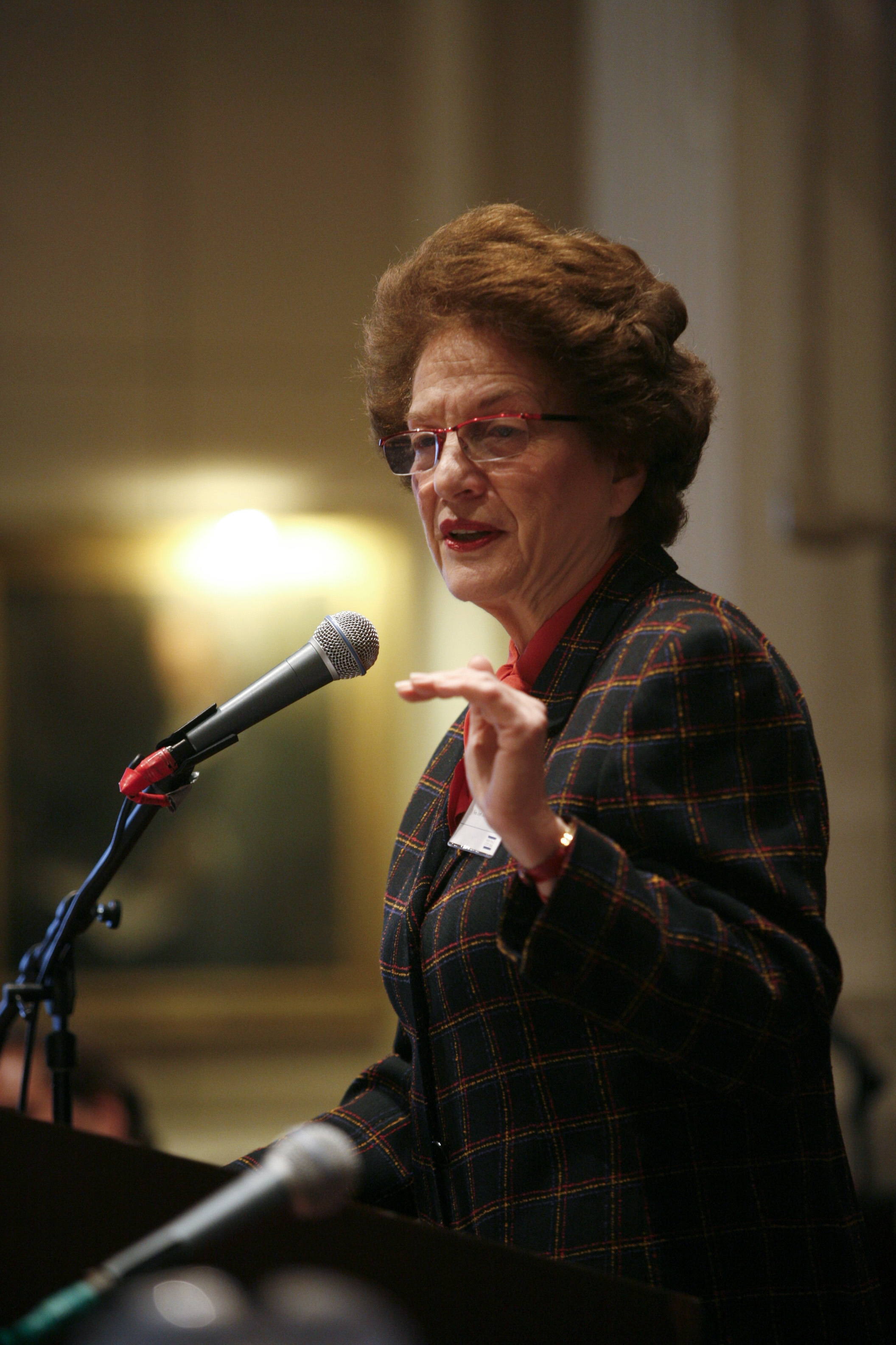 Judge Judith Kaye held the job of state's chief judge held longer than any of her 21 male predecessors.