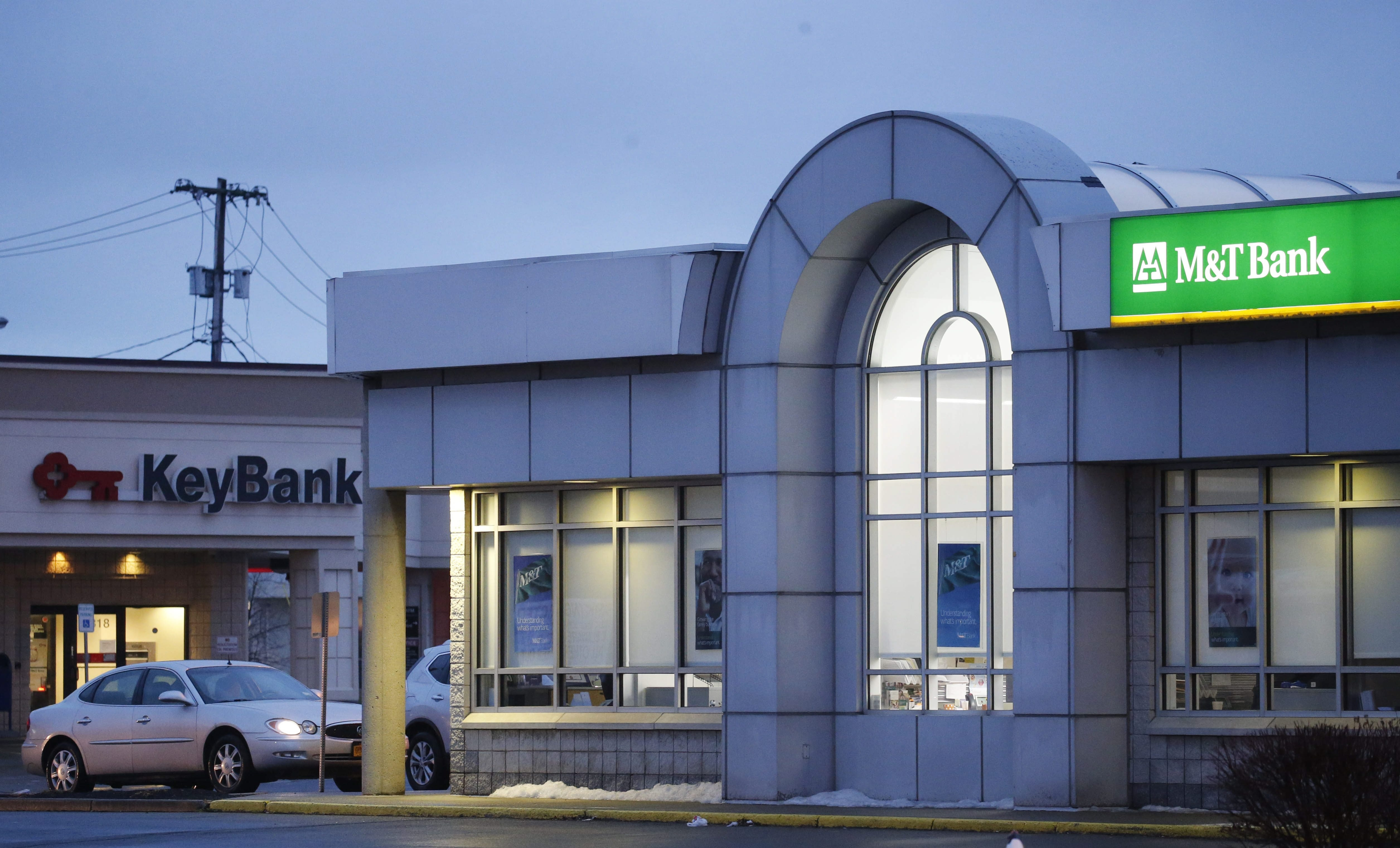 M&T Bank is in the process of converting 135 recently acquired Hudson City bank branches.