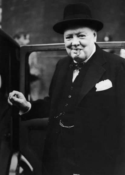 Winston Churchill lived the life of a privileged Londoner.