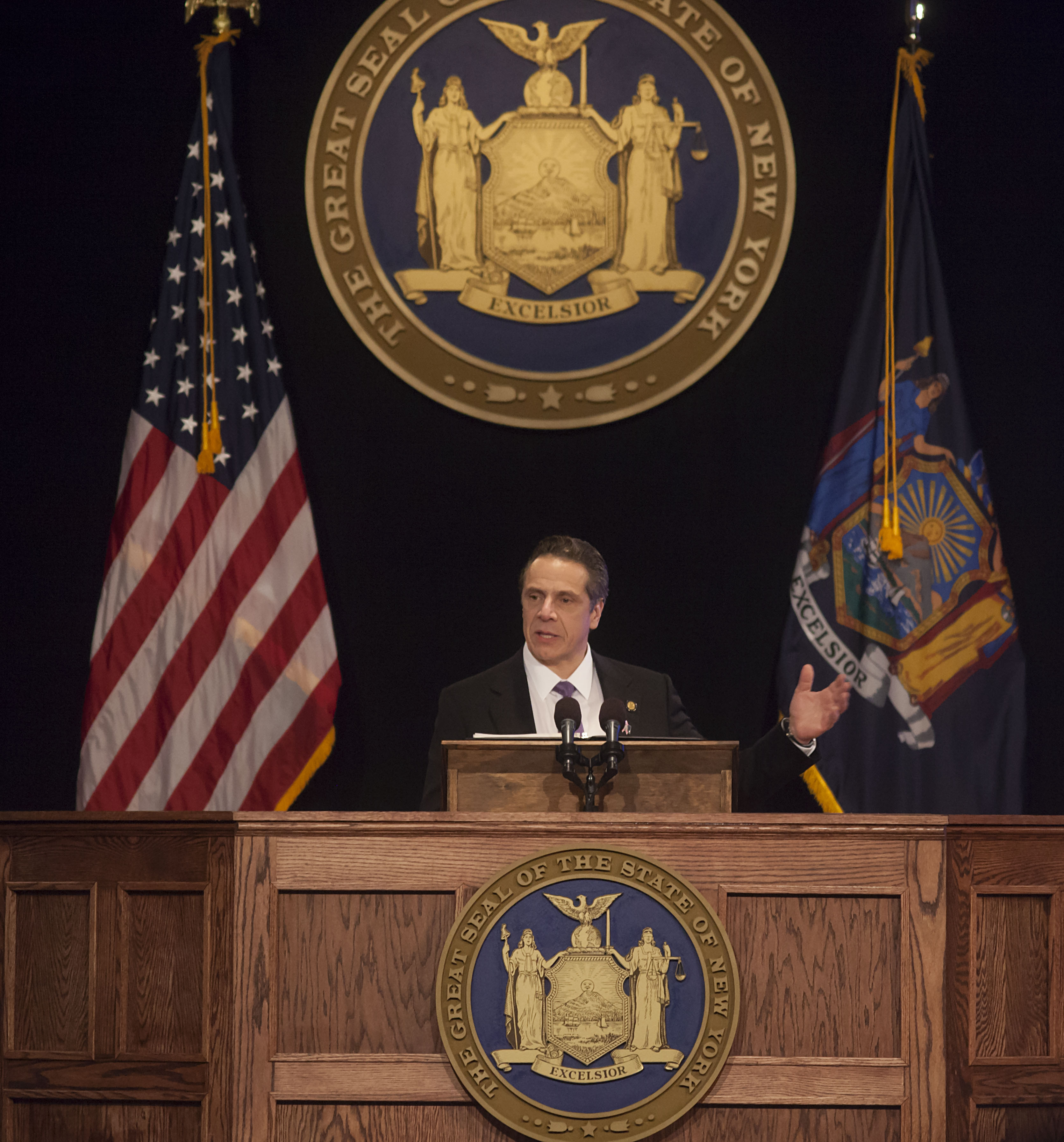 Gov. Andrew M. Cuomo offered a long list of spending proposals while still keeping the state budget increase below 2 percent.