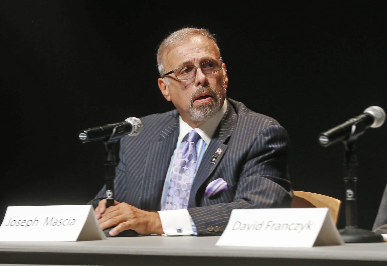 Joseph A. Mascia is serving a suspension.