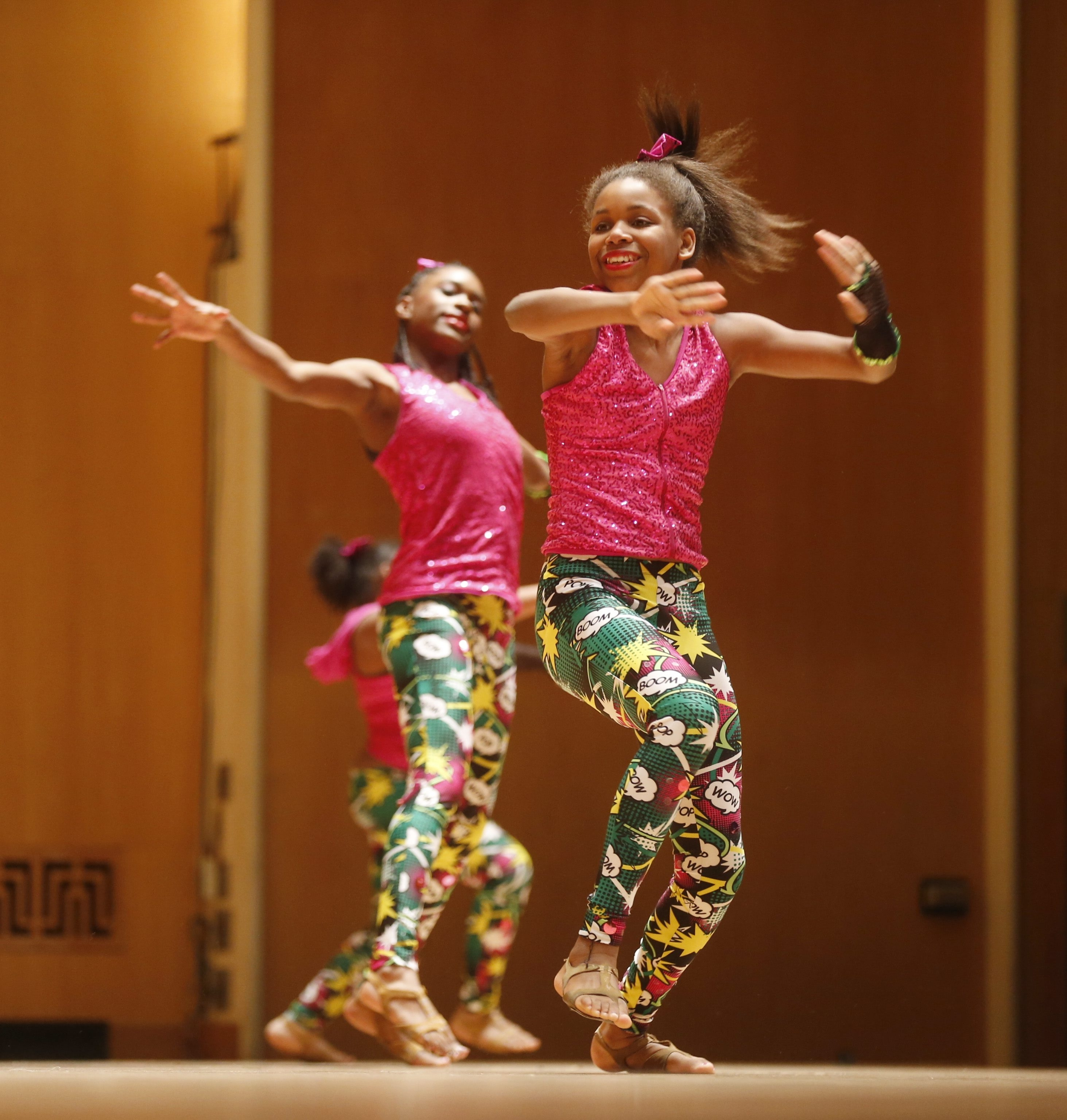 Youngsters from Miss Barbara's School of Dance perform at Kleinhans.