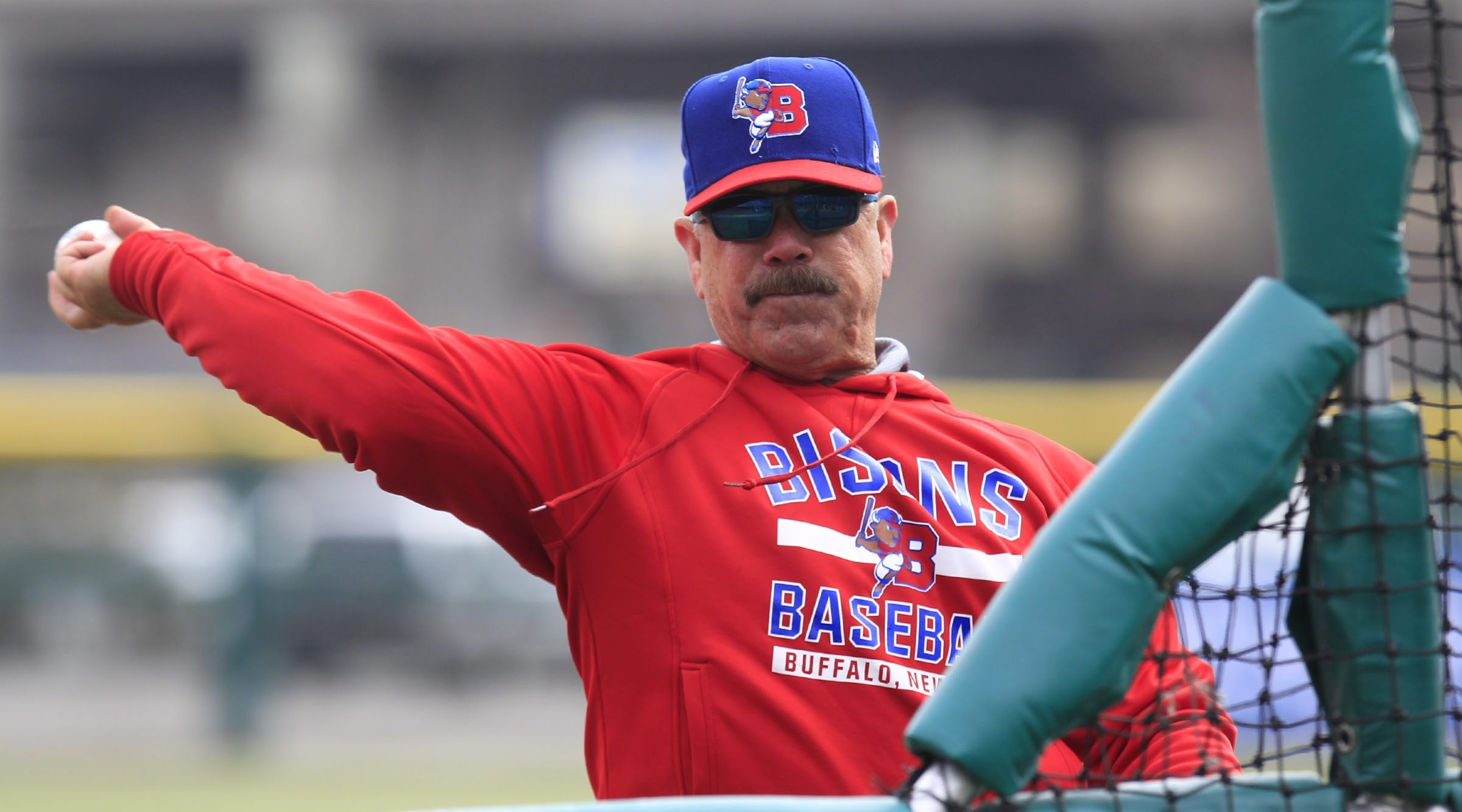 Gary Allenson is 145-142 through his first two seasons as manager of the Buffalo Bisons.