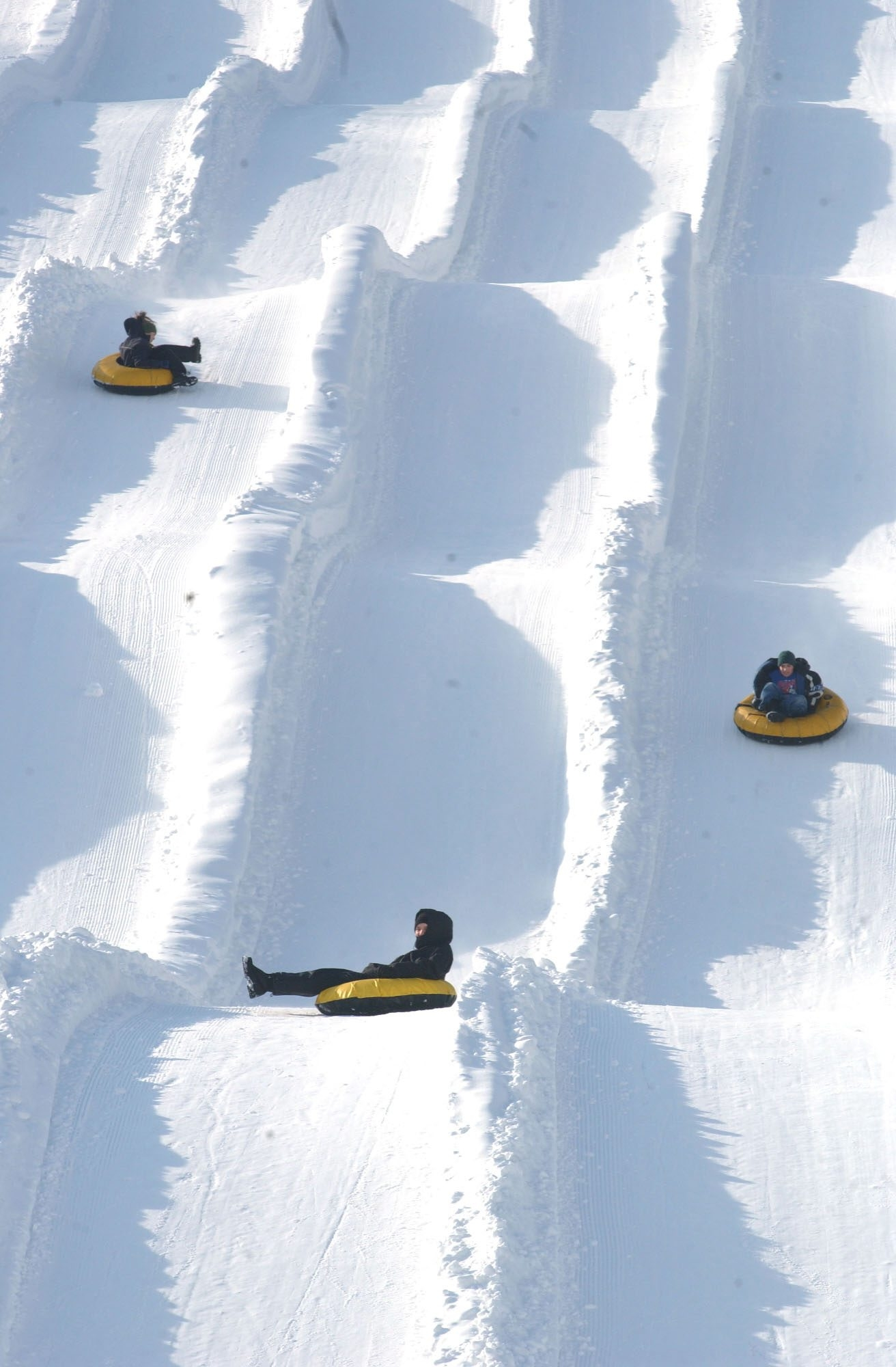 People tubing at Colden Tubing Co. are shown in a file photo. (News file photo)