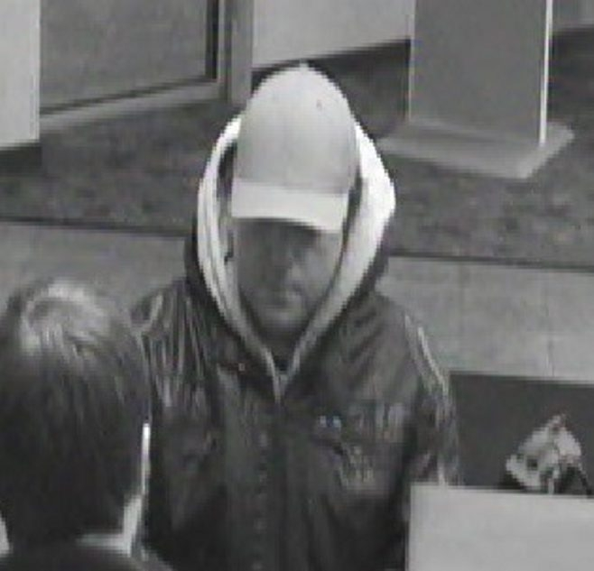 Suspect in Citizens Bank robbery. (Photo/City of Tonawanda Police Department)
