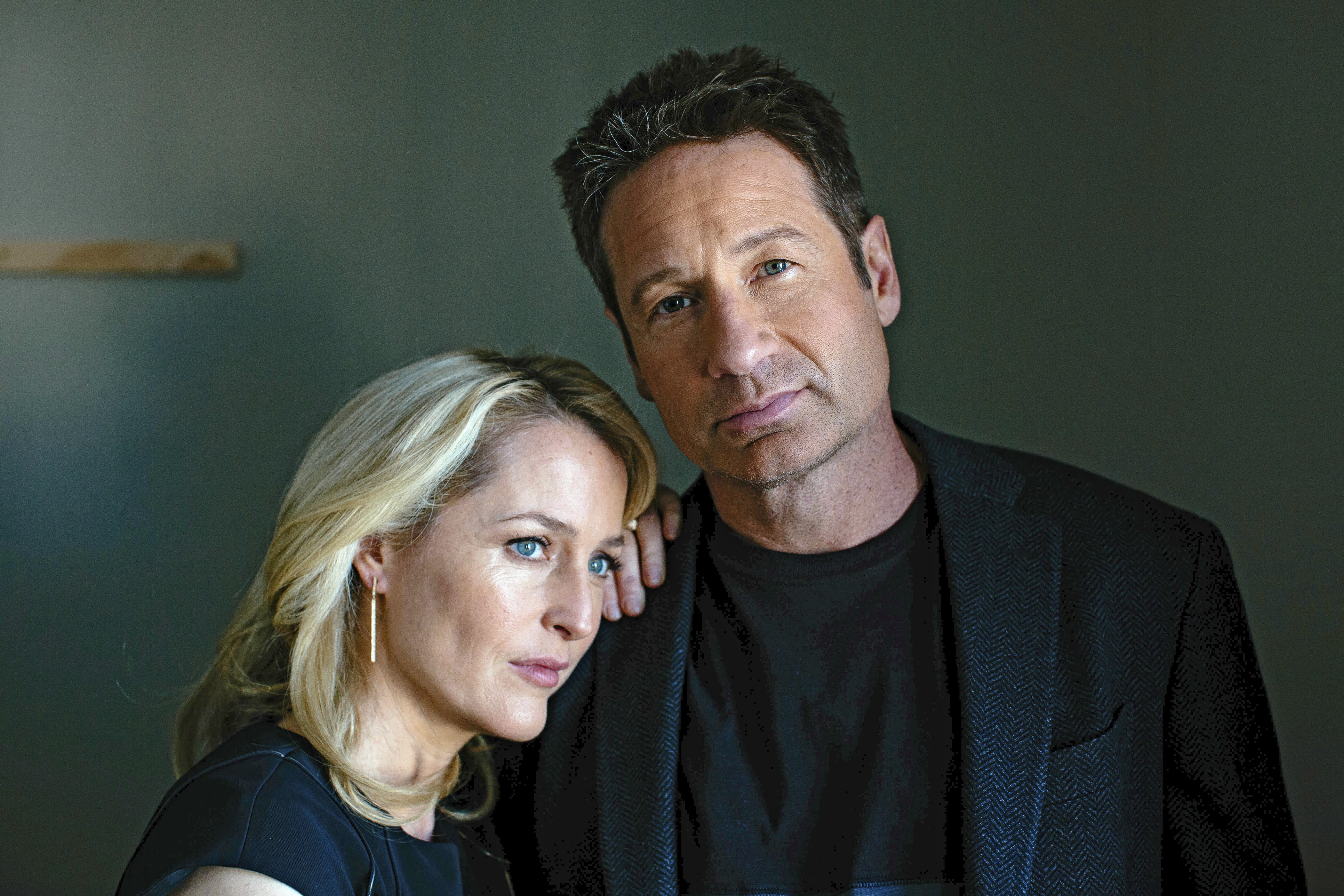 """The X-Files,"" starring Gillian Anderson and David Duchovny, returns to televisions nationwide Jan. 24. (New York Times)"