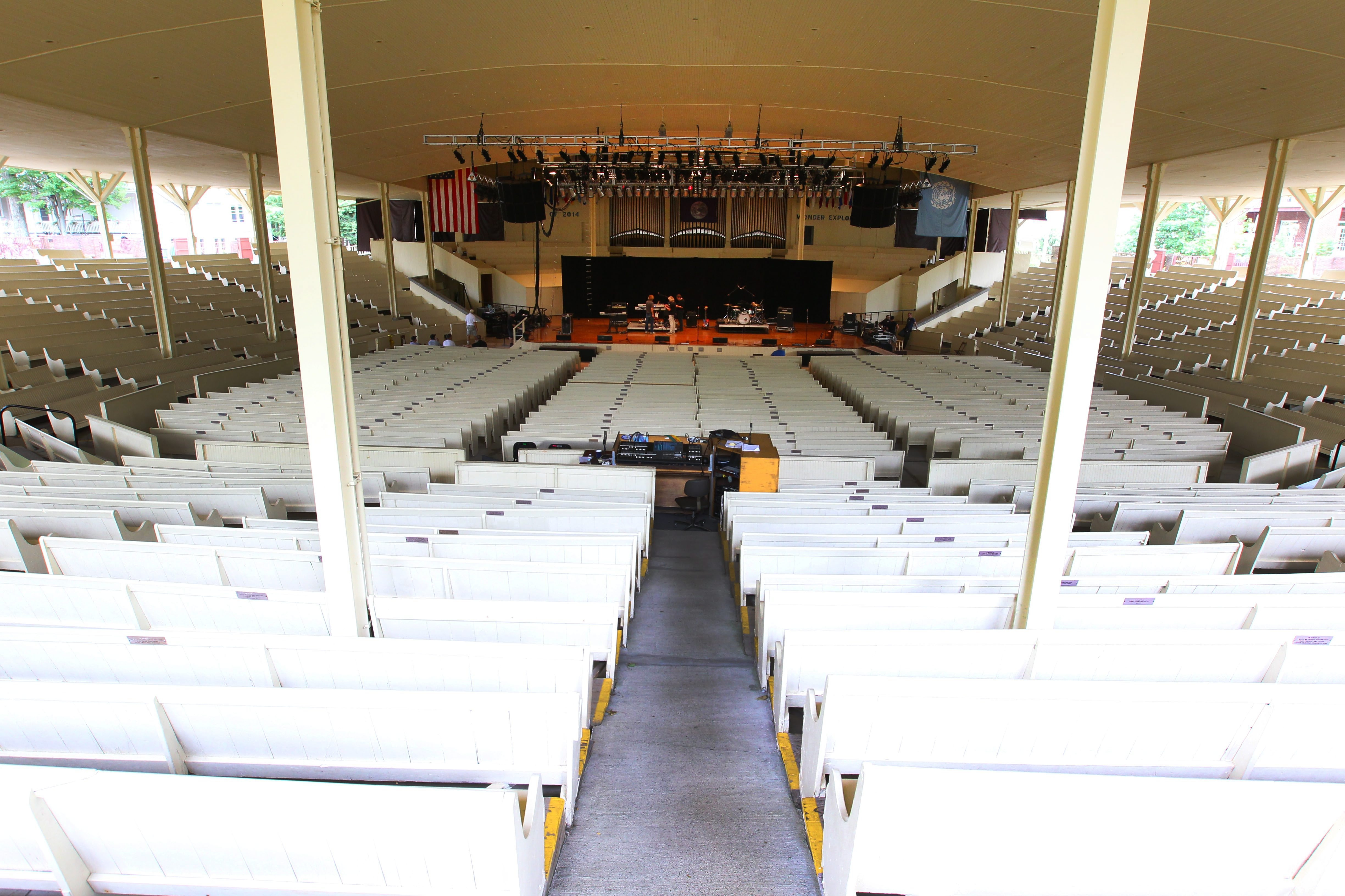 The Chautauqua Institution Amphitheater.