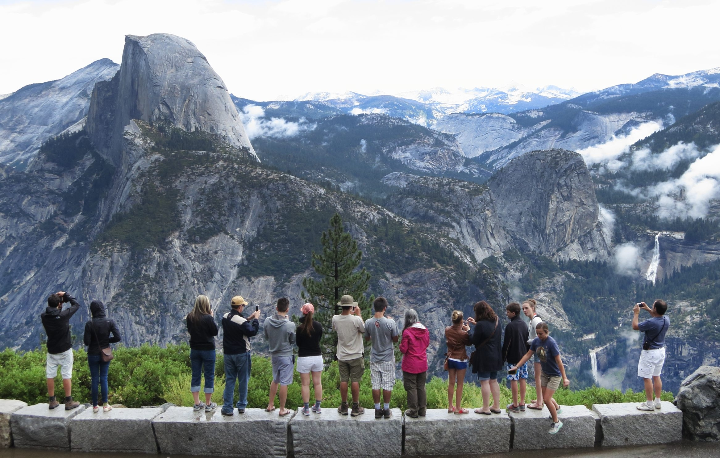 The National Park Service is changing names of  several properties in Yosemite National Park in a dispute with Delaware North.