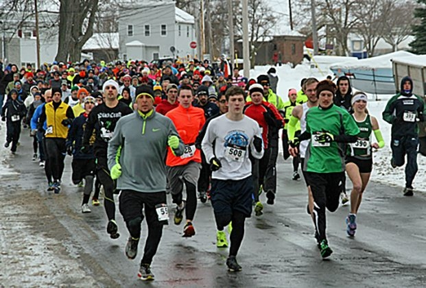 About 600 runners and walkers participated in last year's Mr. Ed's.
