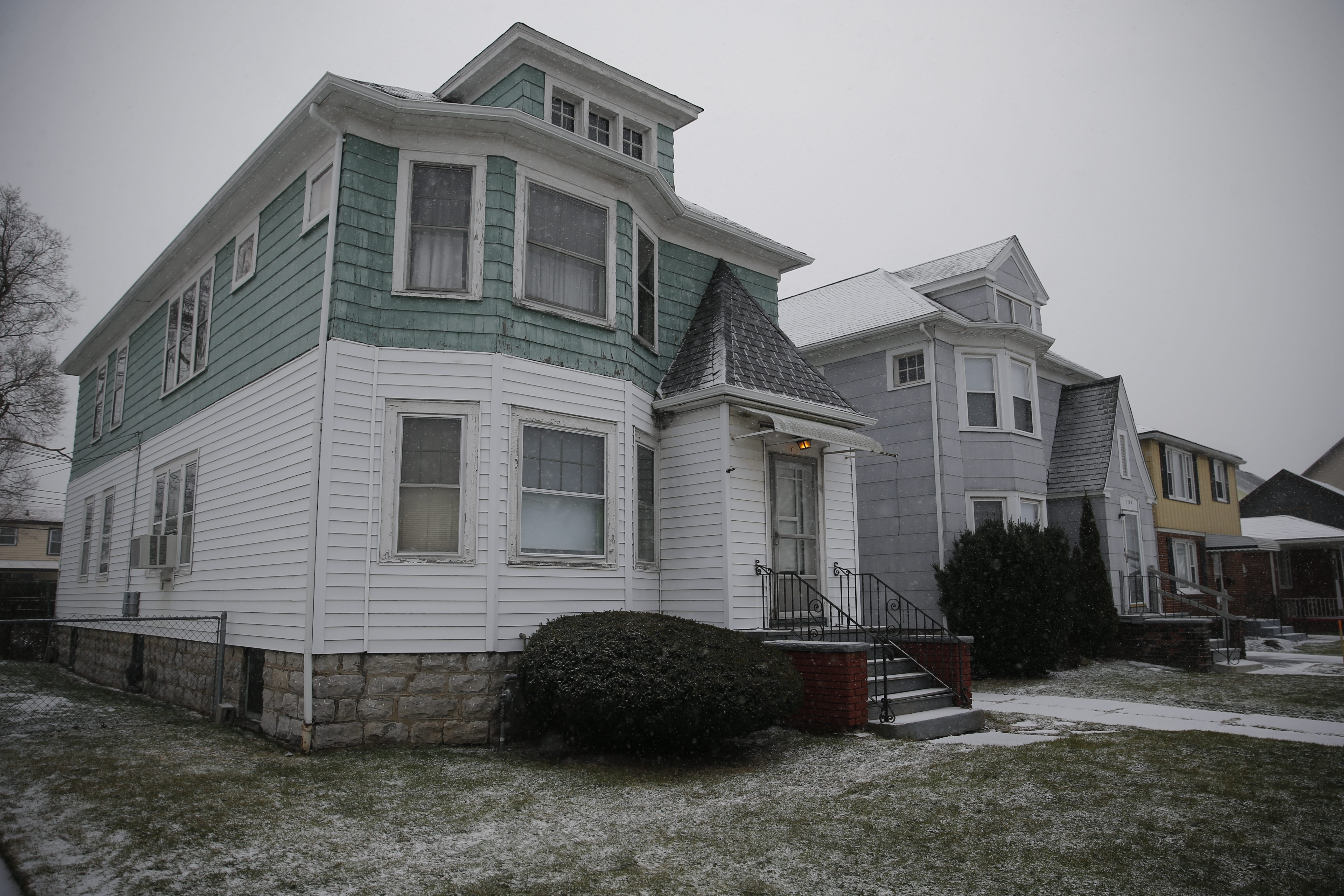 The Cunard Road home in North Buffalo, Thursday, Jan. 28, 2016, where a woman was found dead.  (Derek Gee/Buffalo News)