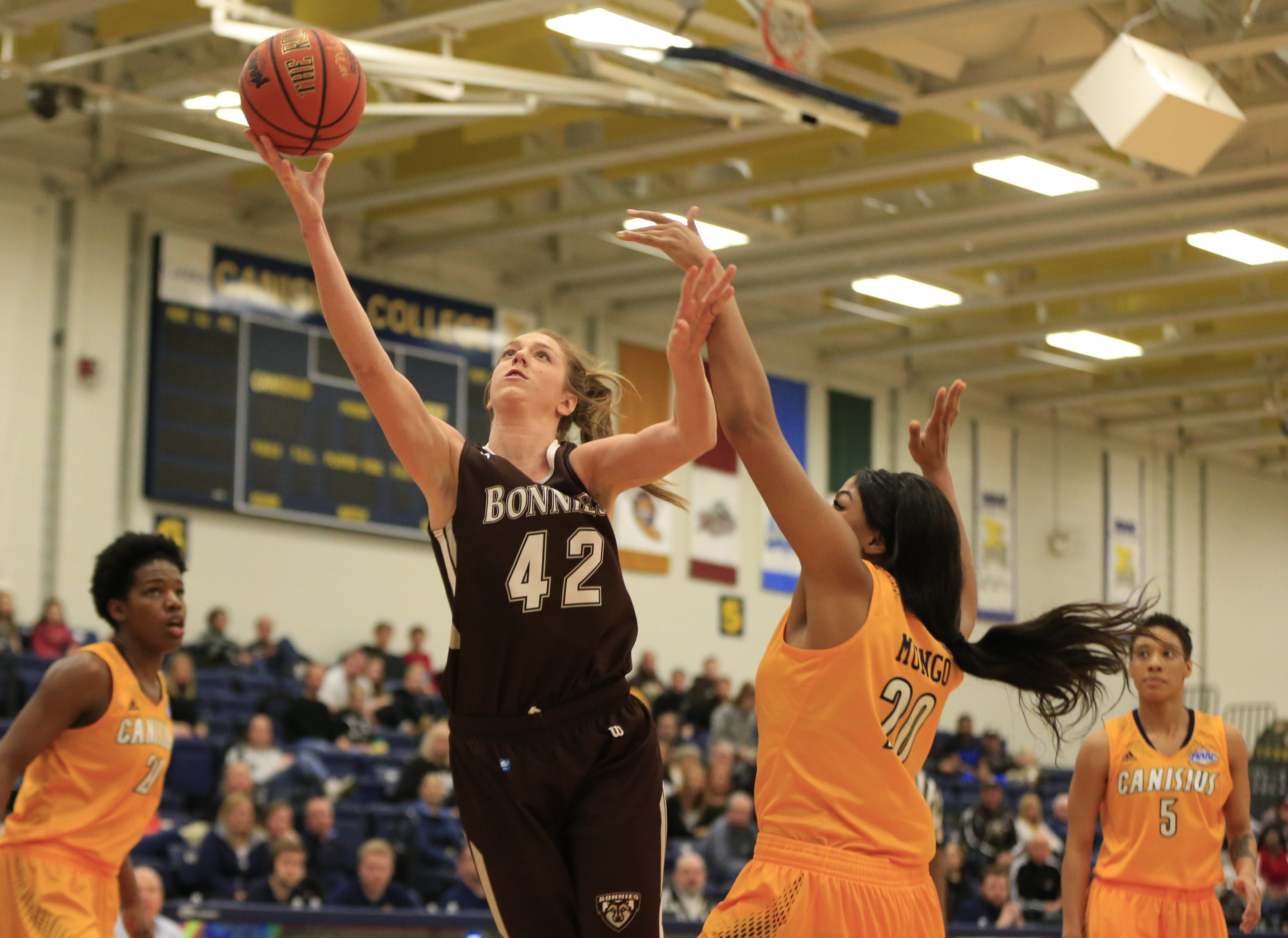 Katie Healy and the Bonnies are a driven team this season after the disappointment of a year ago.
