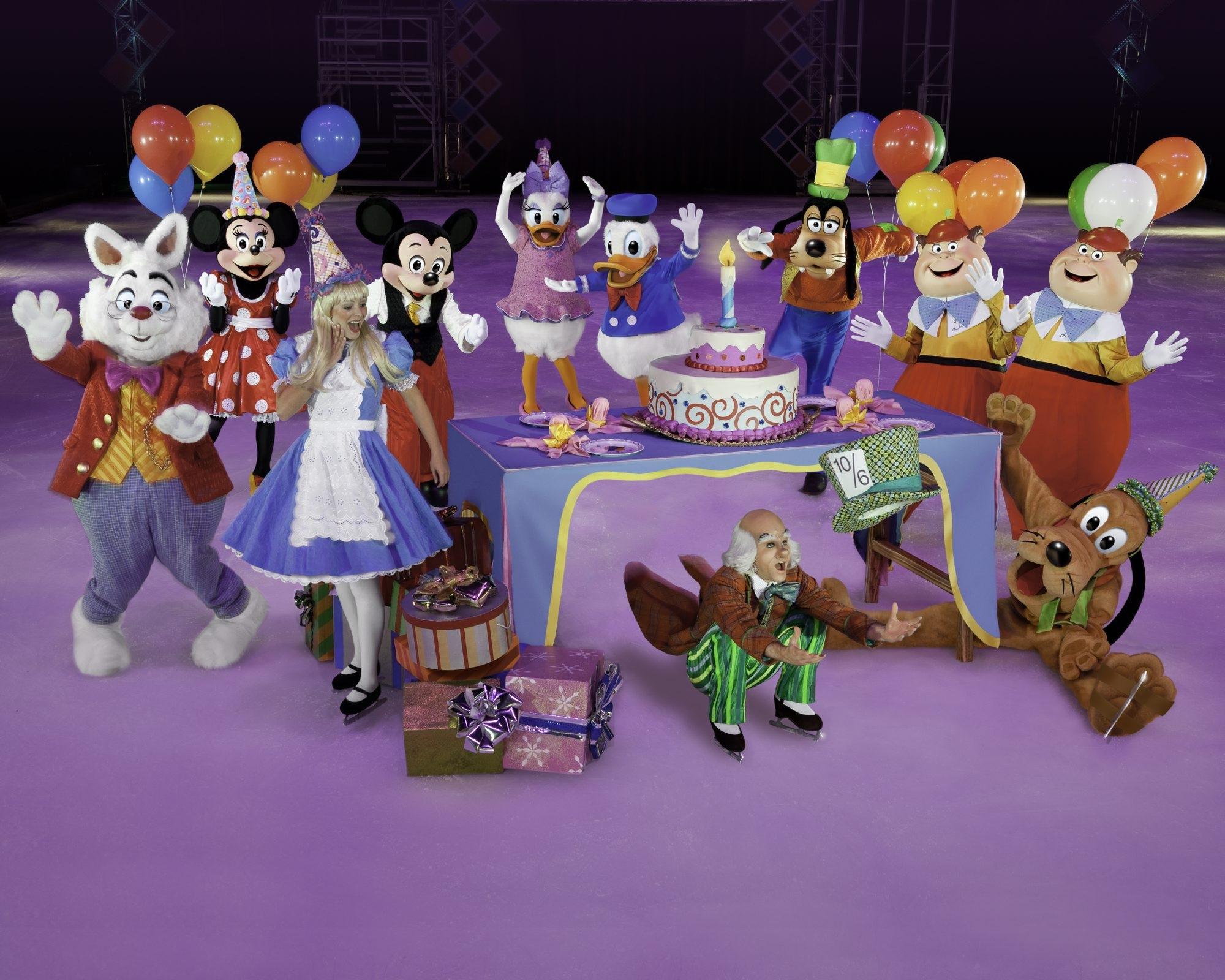 Alexis Darrow of Beamus Point stars as Alice in Wonderland in 'Disney on Ice presents Let's Celebrate.' (2015)