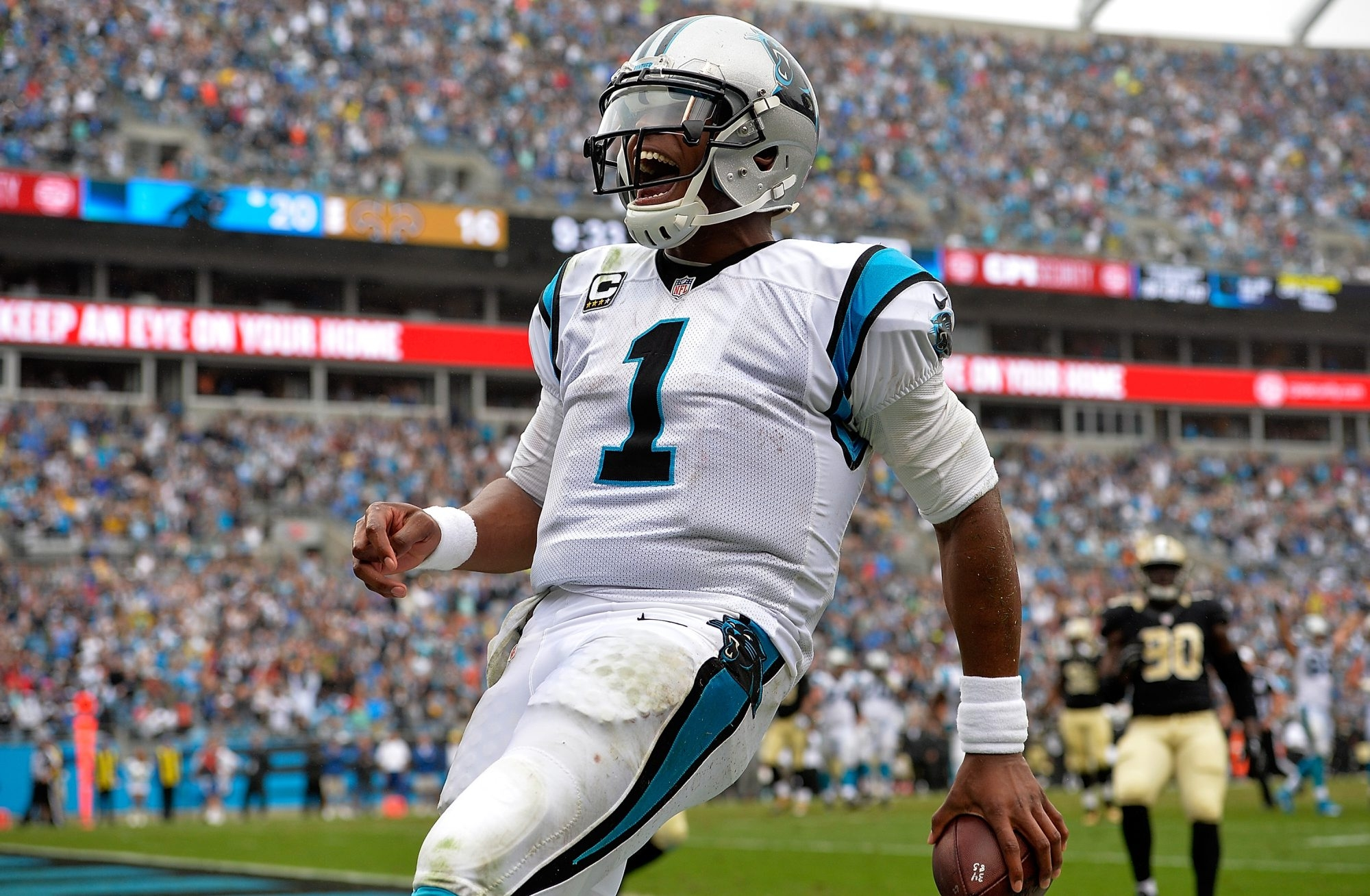 Carolina quarterback Cam Newton's accomplishments as a passer and a runner – combined with the Panthers' 15-1 record – established him as the NFL's most valuable player for 2015.