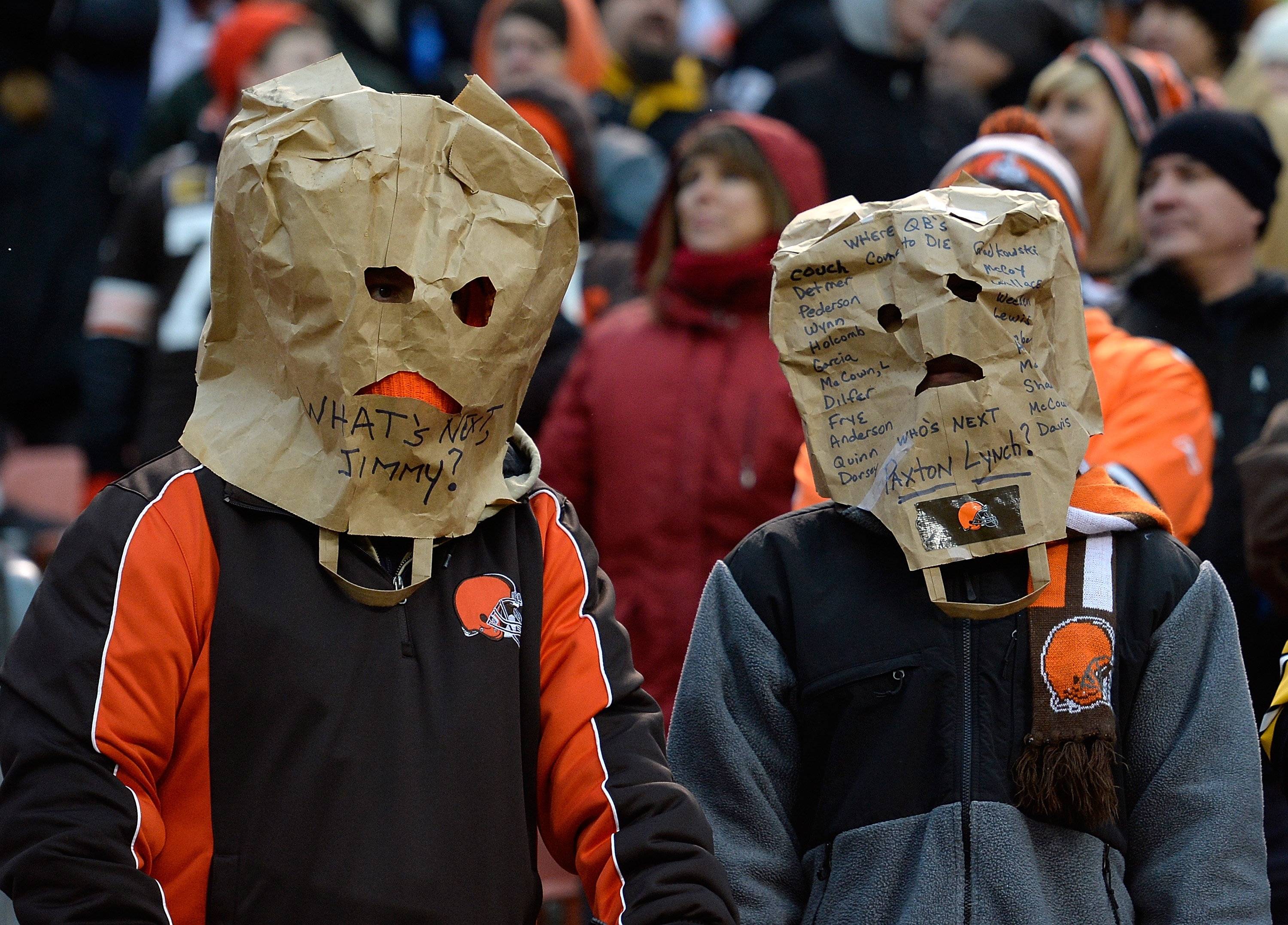 Will more analytics for the Cleveland Browns lead to fewer fans like this?