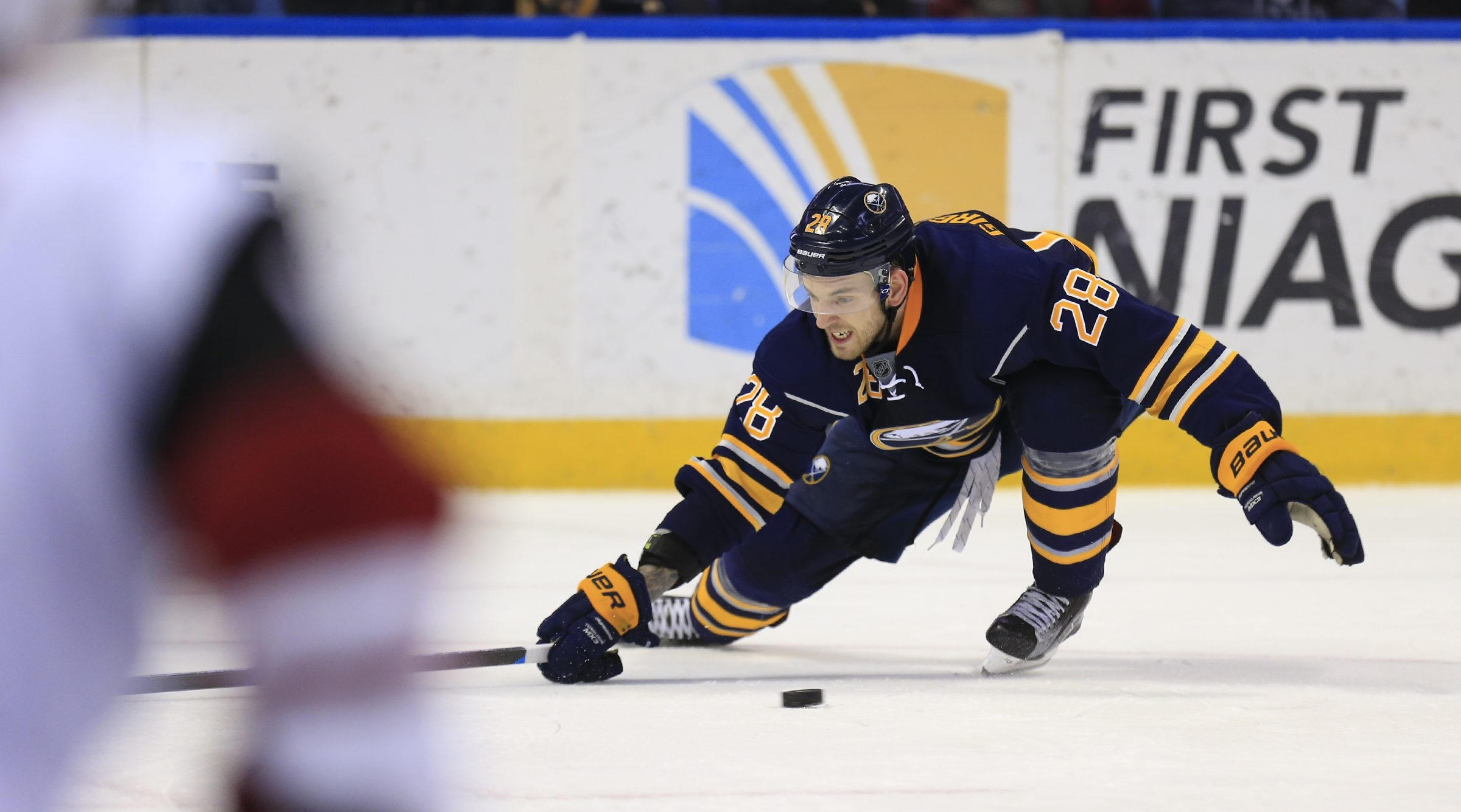 Zemgus Girgensons has recorded three points in last three games doubling season output.