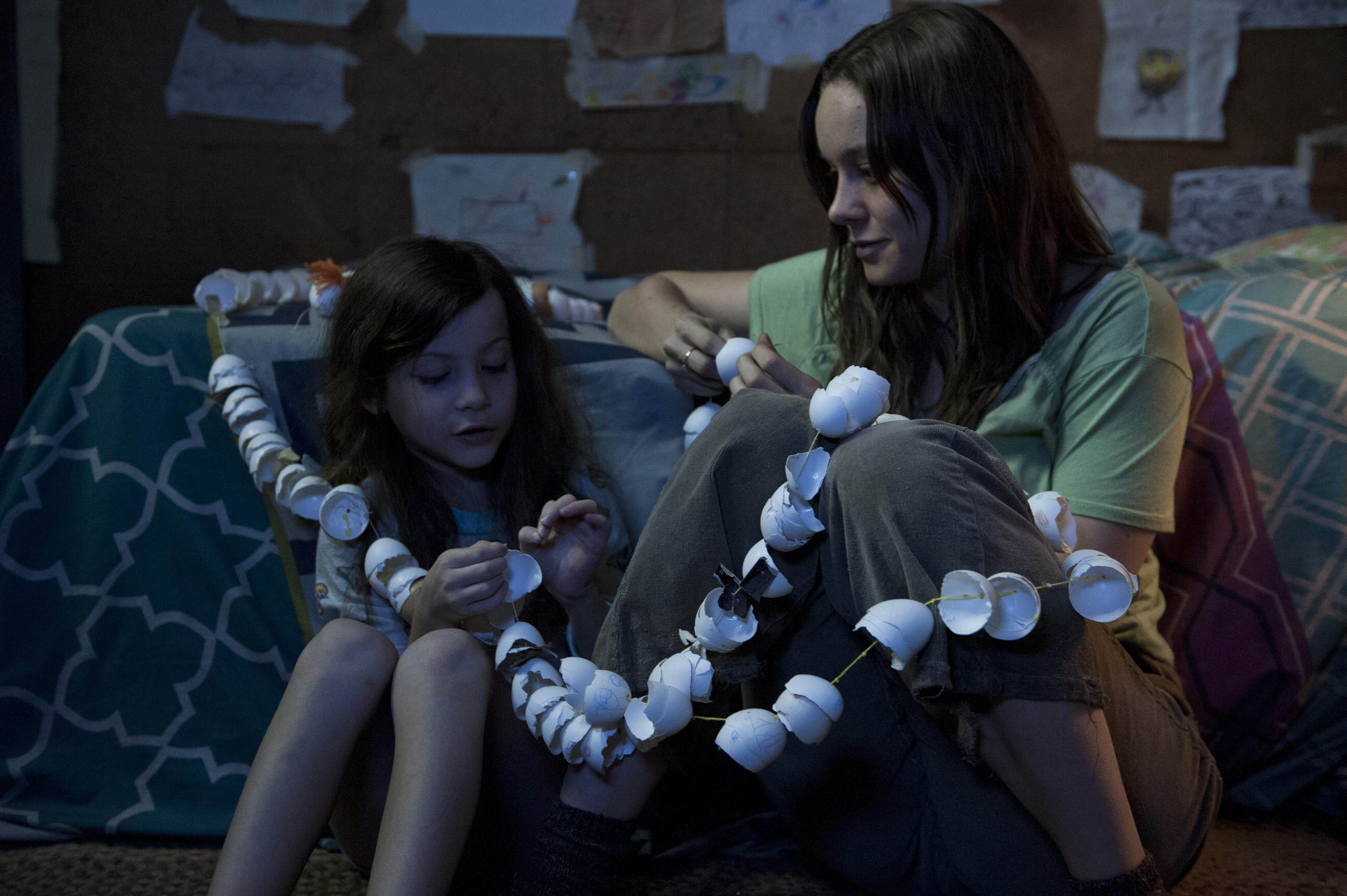 """'Room' stands out: Brie Larson and Jacob Tremblay star in """"Room,"""" a tense, haunting story of abuse, terror and liberation."""