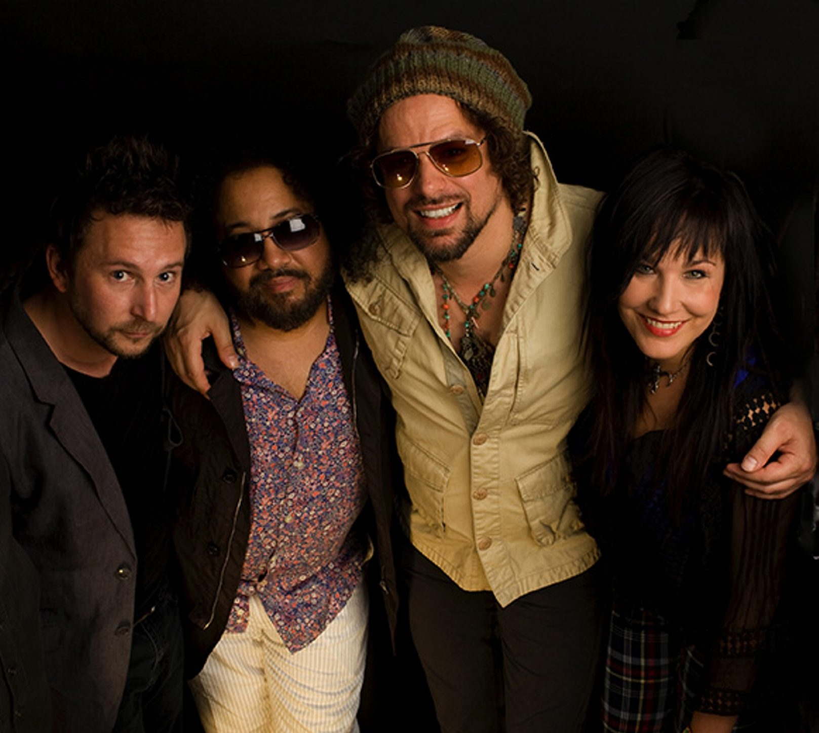 Rusted Root (above) and guest Devon Allman play a sold-out show at Buffalo Iron Works on Jan. 8.
