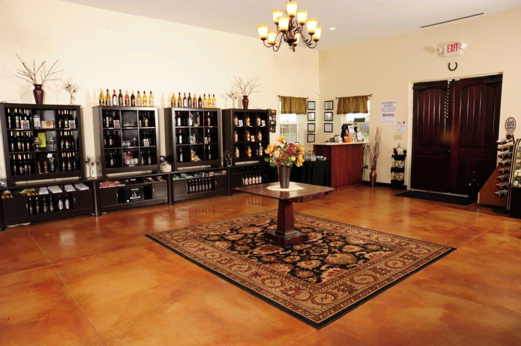 The tasting room at Black Willow Winery, which won a number of awards recently.