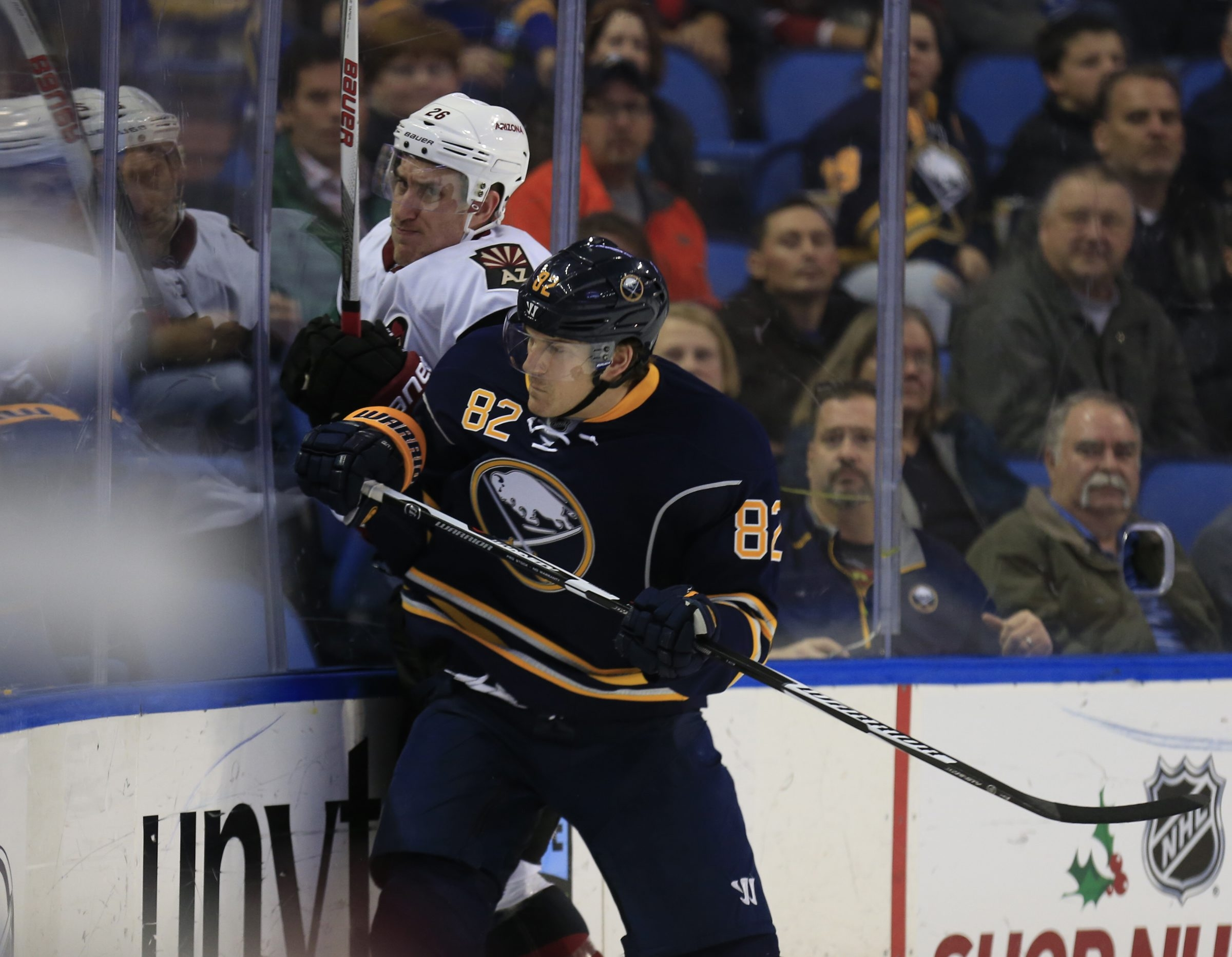 Linemate Marcus Foligno will try and replace some of the physical play lost due to Nic DesLauriers injury.