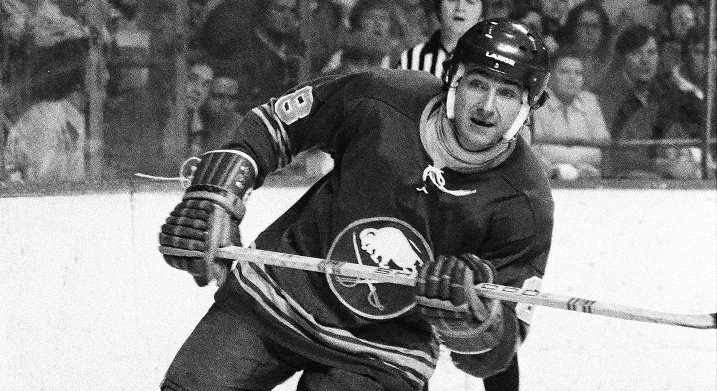 Jim Lorentz in his days as a Buffalo Sabre. (Getty Images)