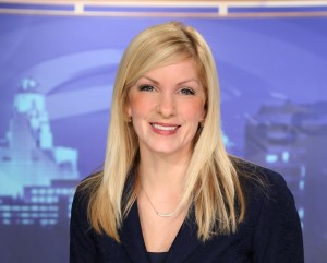 Ali Touhey: New Channel 7 reporter-anchor (Channel 7 photo)