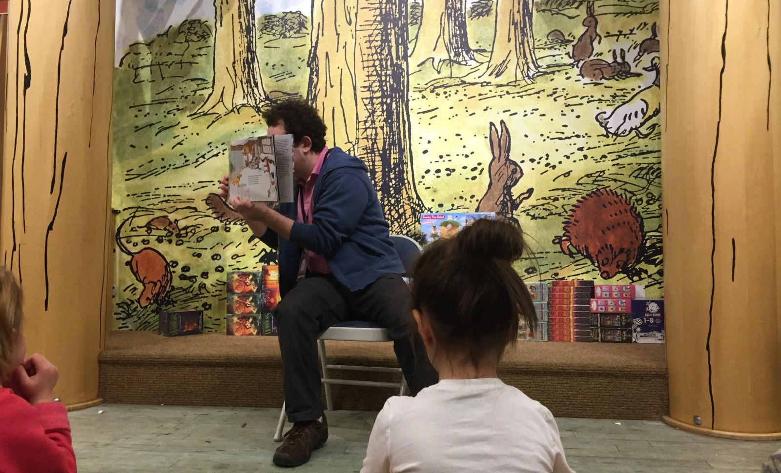 Story time at Barnes & Noble. (Mary Friona-Celani/Special to The News)