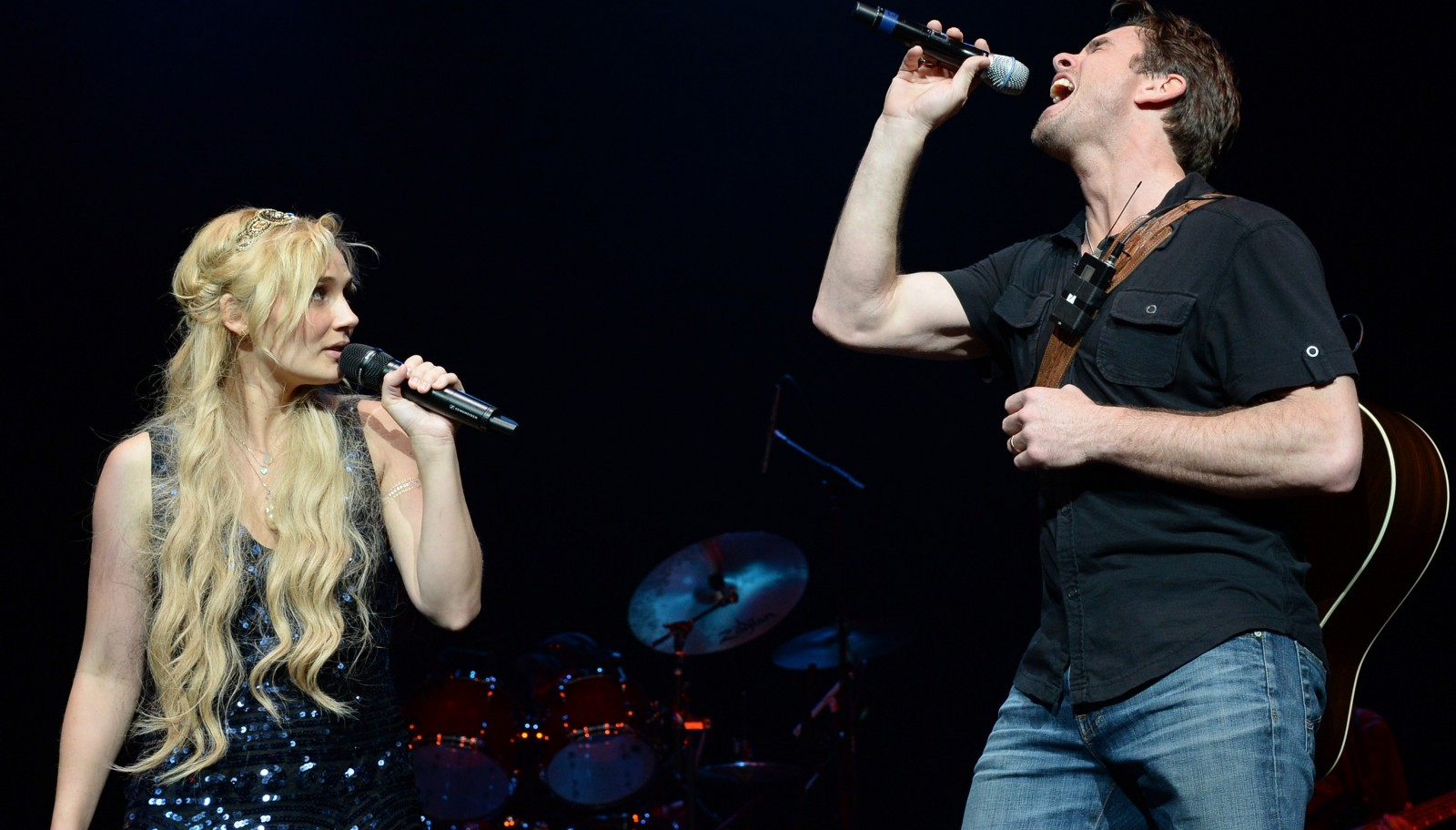 Clare Bowen and Charles Esten will perform at the University at Buffalo Center for the Arts. (Getty Images)