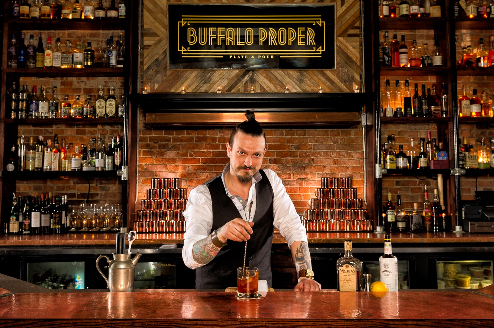 Downtown craft cocktail stalwart Buffalo Proper has closed