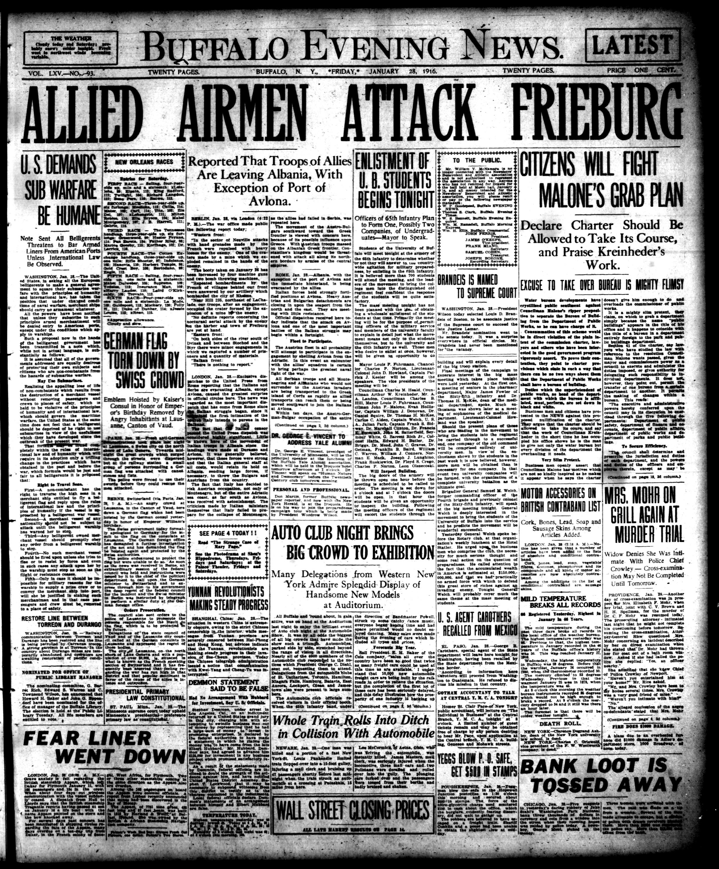 Jan 28 1916