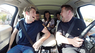 James Corden's  earlier Carpool Karaoke with One Direction on 'The Late Late Show with James Corden'   Photo: CBS Broadcasting, Inc. All Rights Reserved