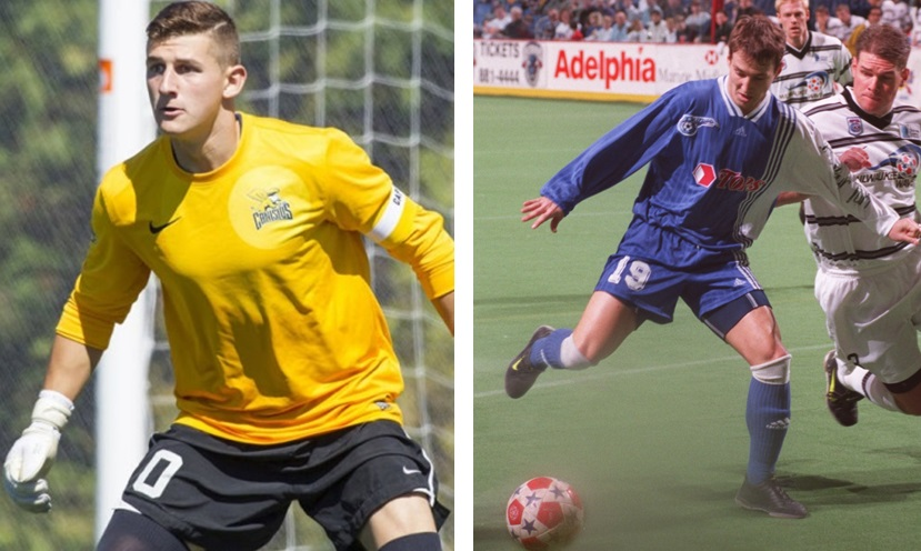Andrew Coughlin, left, and Doug Miller have both signed with the Syracuse Silver Knights.