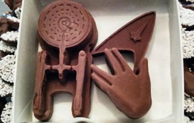 'Star Trek'-inspired chocolates will be Sweet Jenny's focus at Shea's.