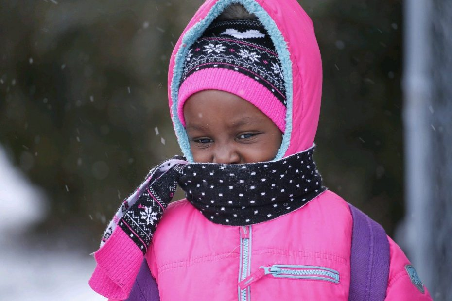 It's going to be another extra chilly January day today. (Derek Gee/Buffalo News)