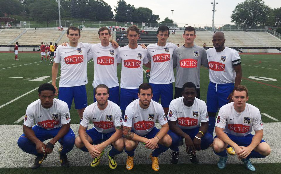 Nanu Ferguson, bottom row, second from left, and his brother, Andrew, bottom row, third from left, head to Ft. Lauderdale this weekend. (via FC Buffalo)