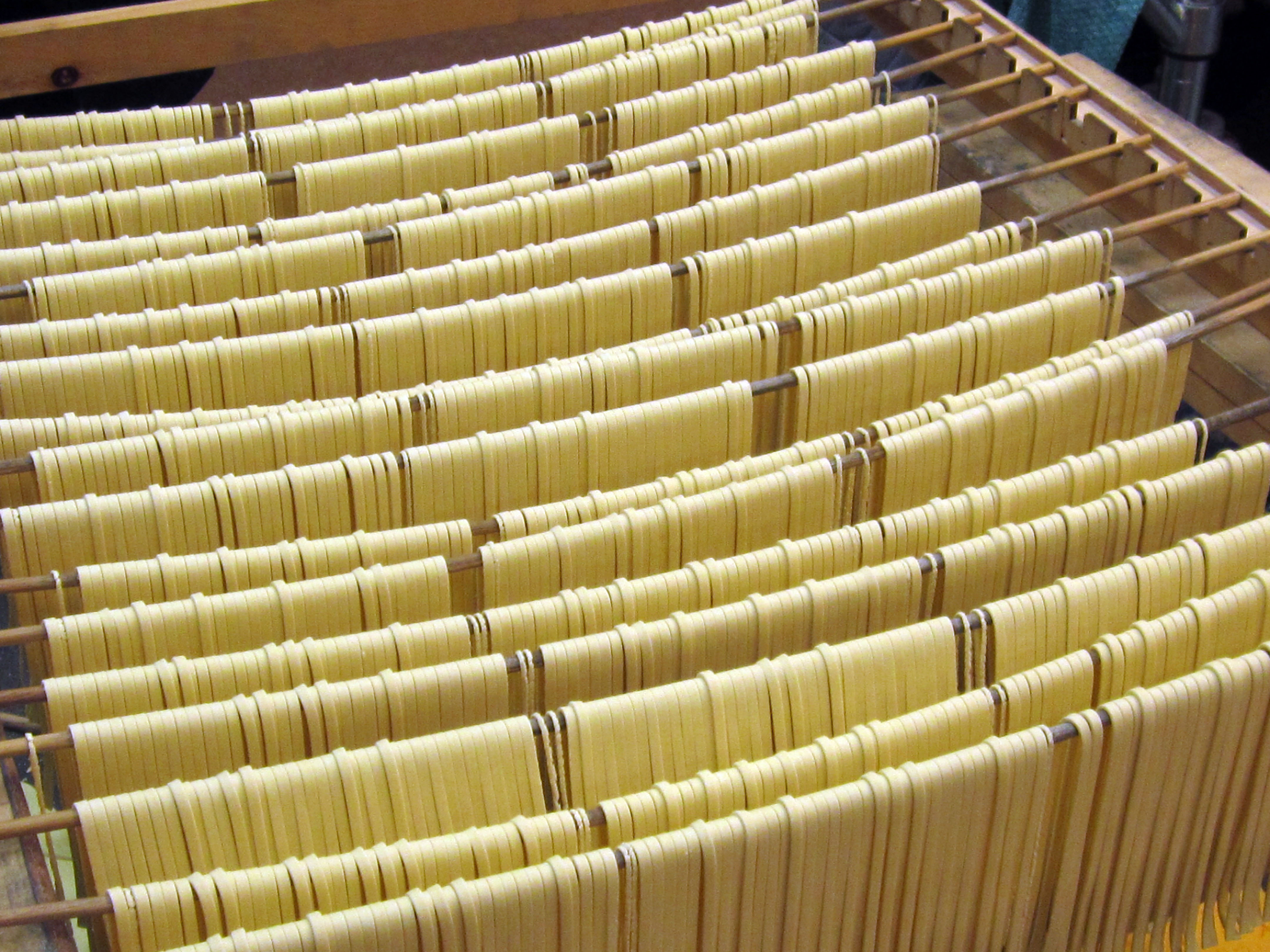 While most may be familiar with Pasta Peddler's dried pastas, the shop does sell fresh. Call ahead or place an order.