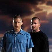 Wentworth Miller and Dominic Purcell of 'Prison Break' (Fox photo)