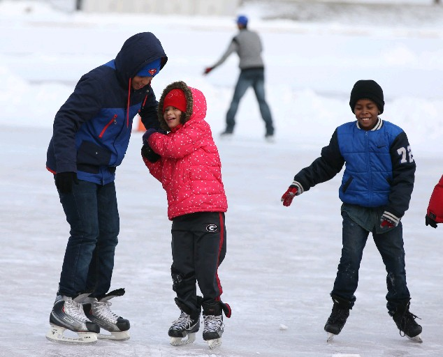 Winter Blast takes place from 11 a.m. to 1 p.m. today at Martin Luther King Park. (James P. McCoy/Buffalo News file photo)