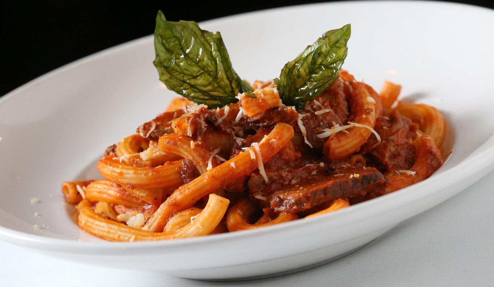 Housemade pastas, like Rizotto's maccarancini with a short rib ragu, remain. (Sharon Cantillon/Buffalo News)