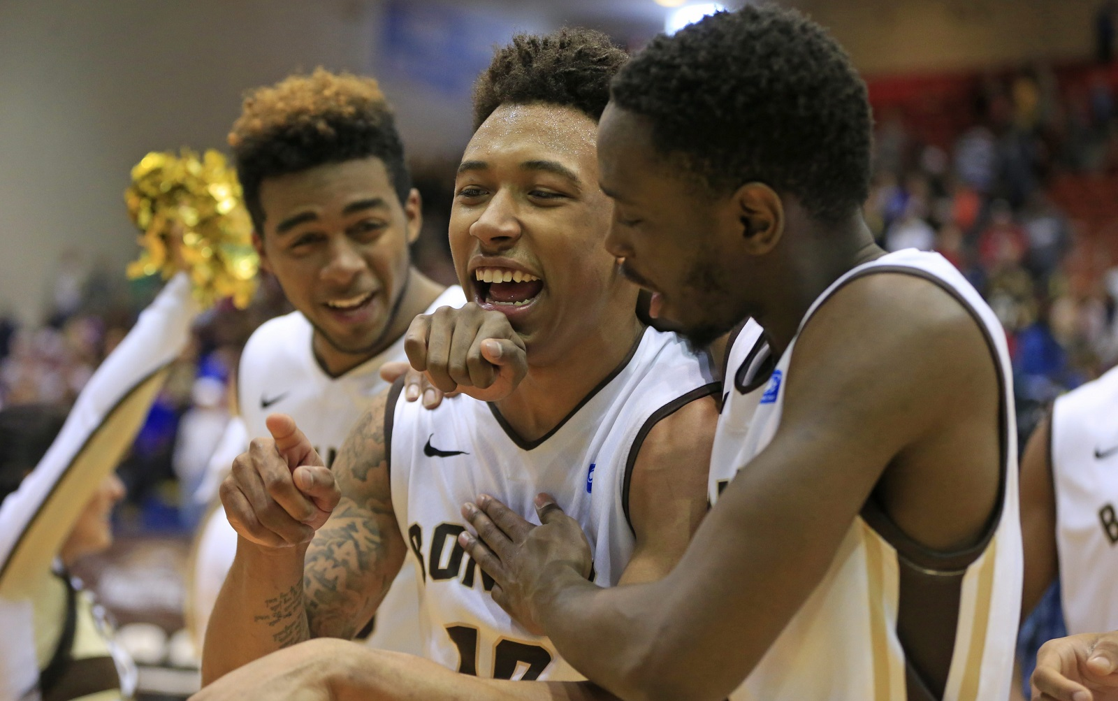 St. Bonaventure point guard Jaylen Adams has improved immensely in his second year with the program. (Harry Scull Jr./Buffalo News file photo)