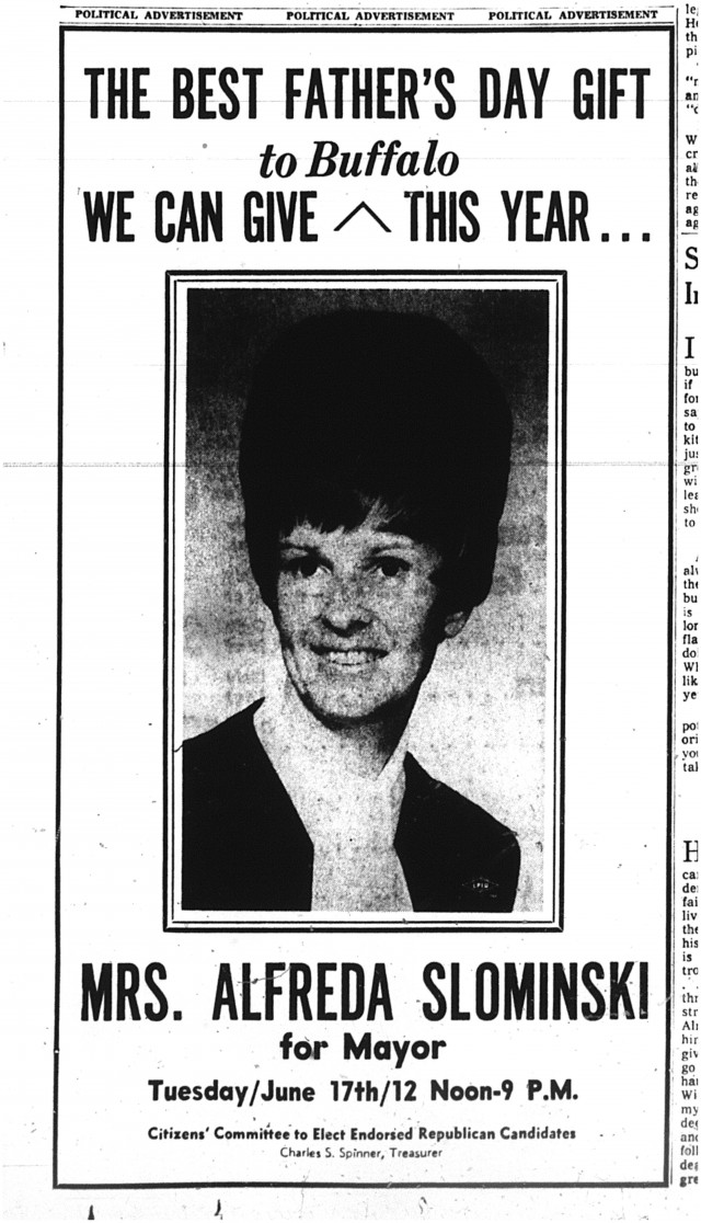 13-june-1969-fathers-day-gift-Alfreda-slominski-for-mayor