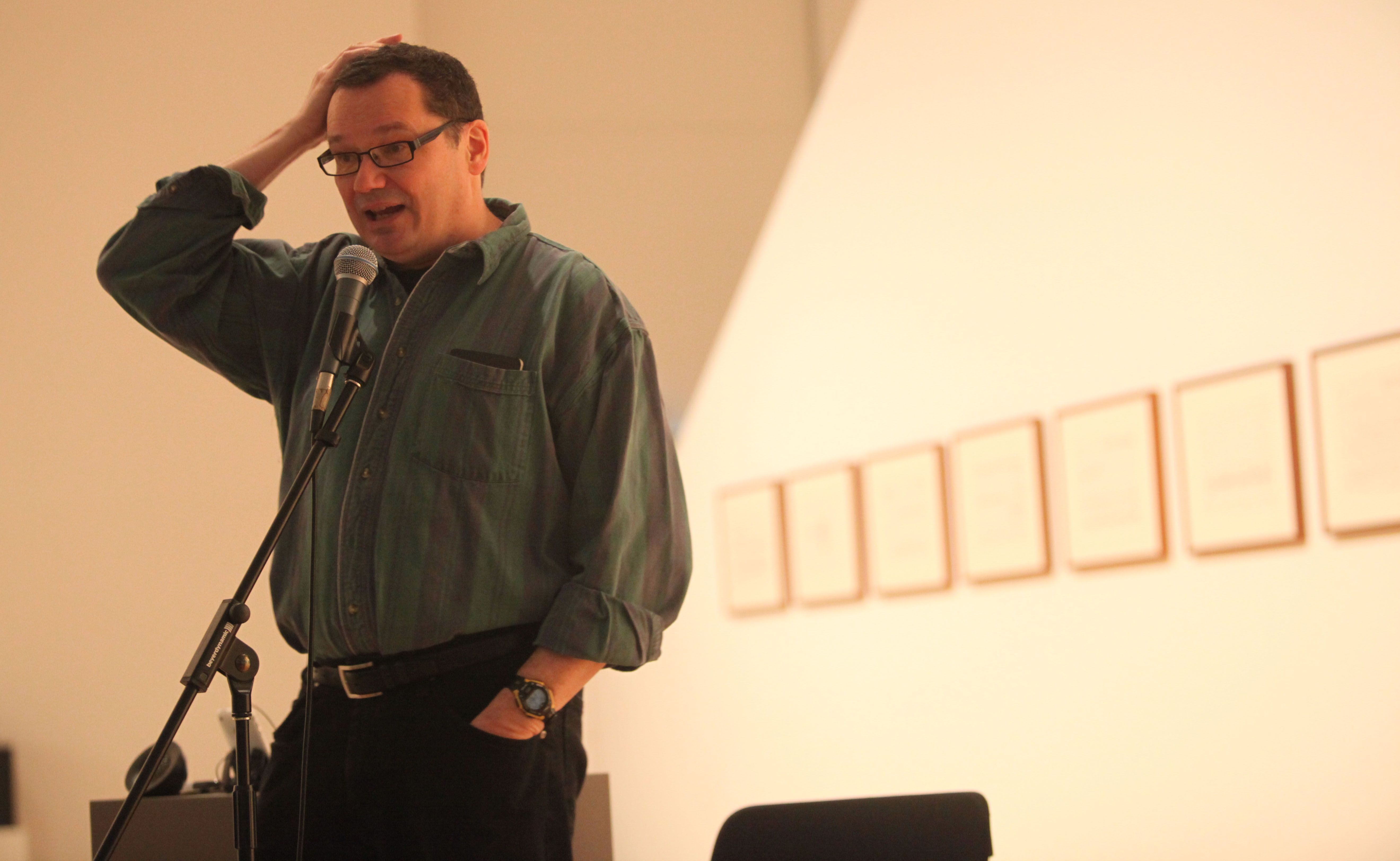 "Ron Ehmke will perform his new piece ""Road to Nowhere"" in Hallwalls Contemporary Arts Center. (Buffalo News file photo)"