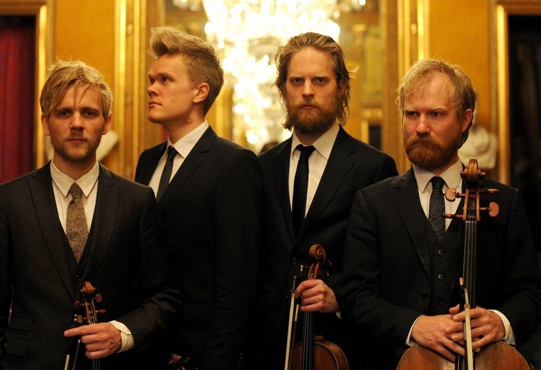 The Danish String Quartet (Photo by Caroline Bitten)