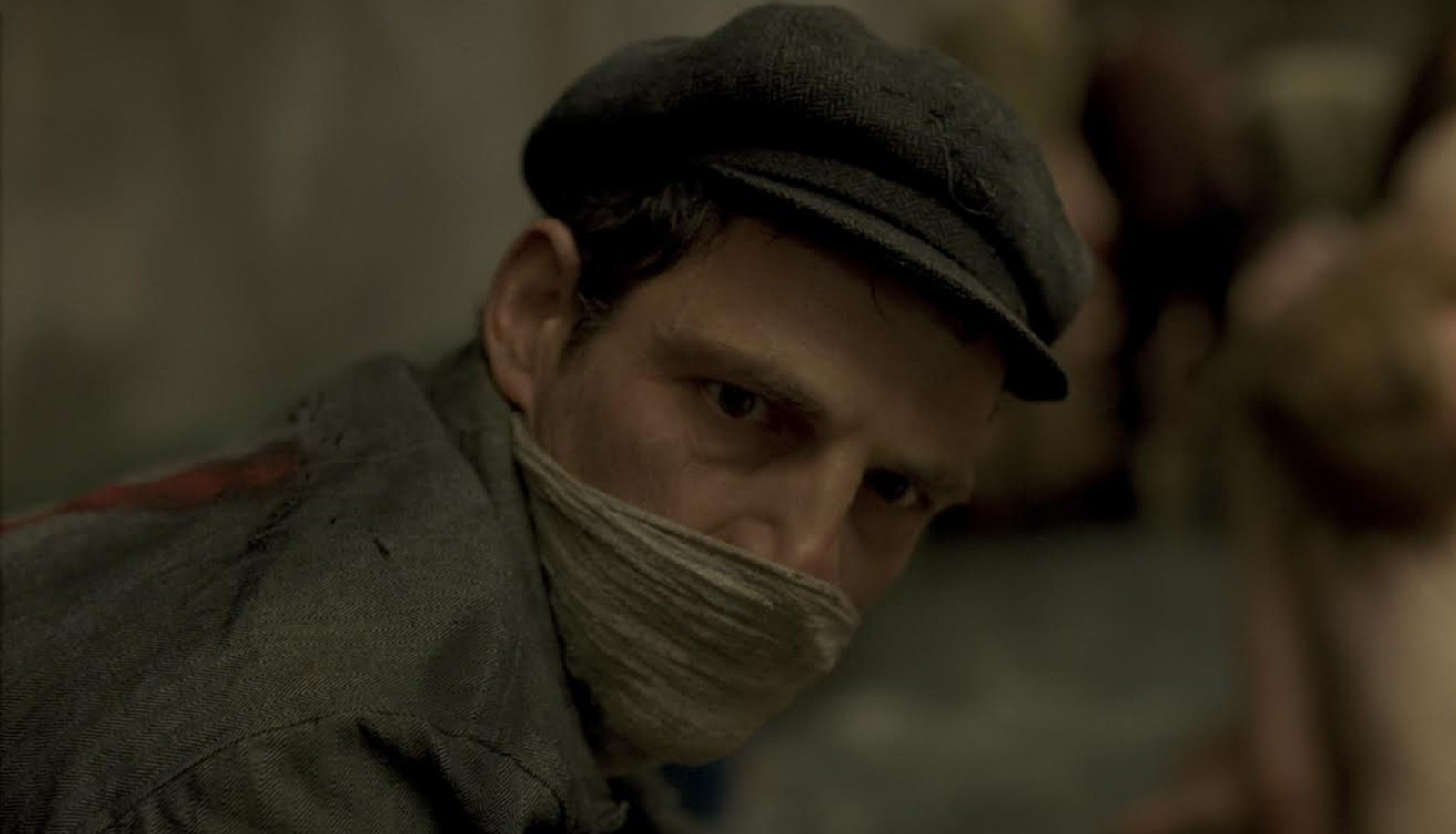 "Geza Rohrig stars as a death camp prisoner in ""Son of Saul."""