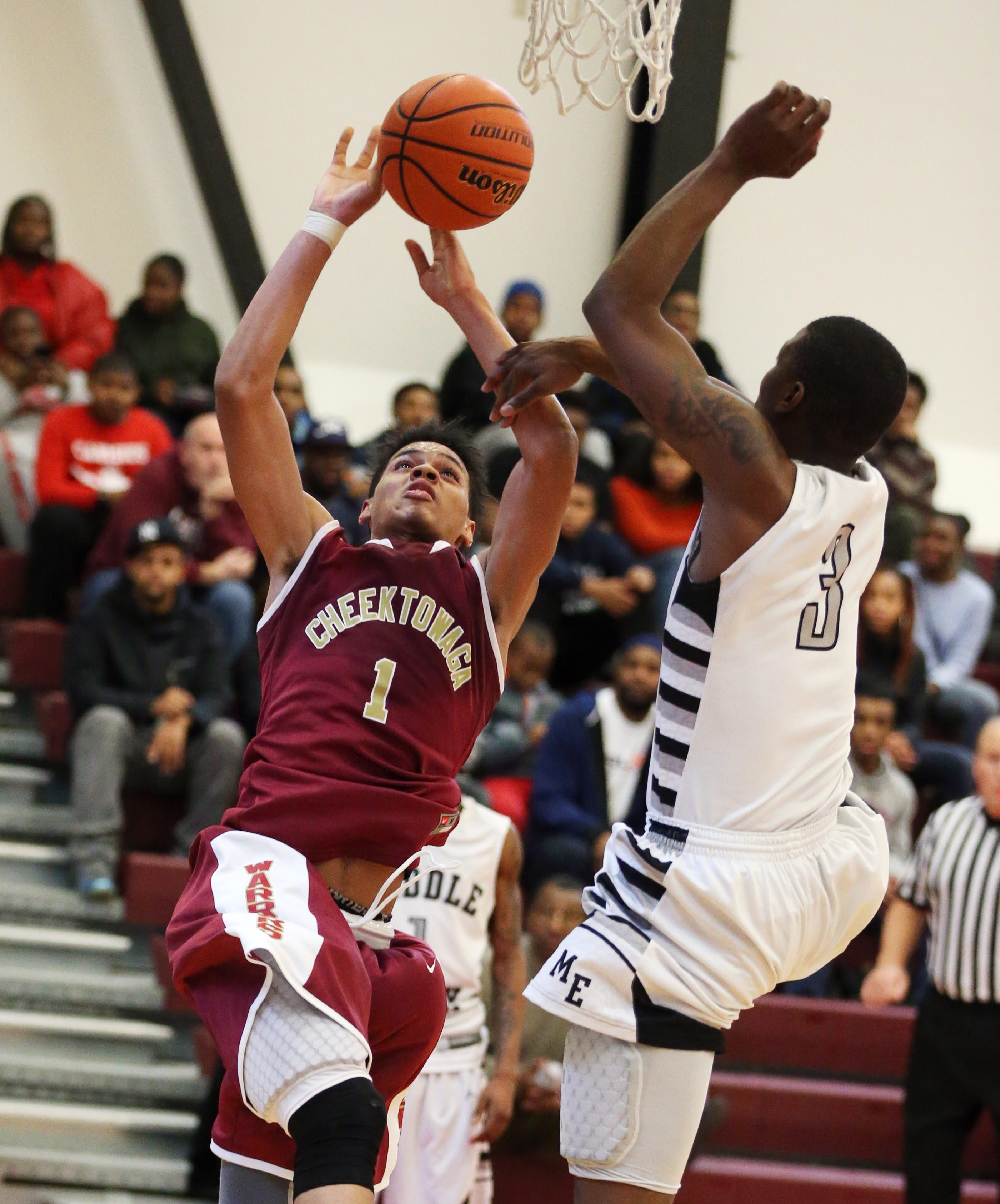 Cheektowaga's Dominick Welch will be a key factor when the Warriors play their crosstown rival Maryvale Friday in the Section VI Class A-2 quarterfinals.