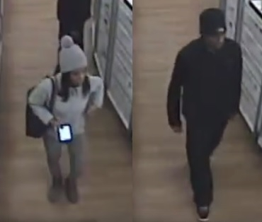 Hamburg police want the public's help identifying these two suspects in a theft at an Ulta store. (Hamburg police)