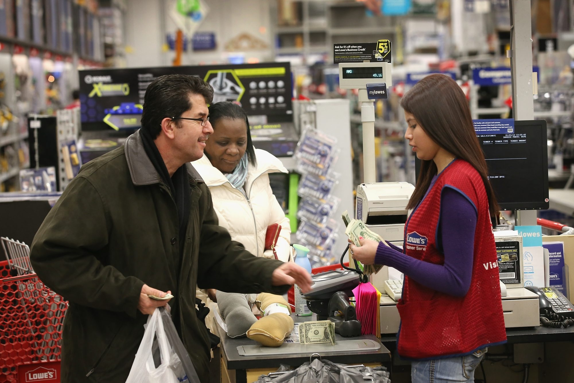 Home improvement stores, like Lowe's and Home Depot, are hiring now for their busy spring season. They need cashiers, sales and customer service associates, stockers and loaders.