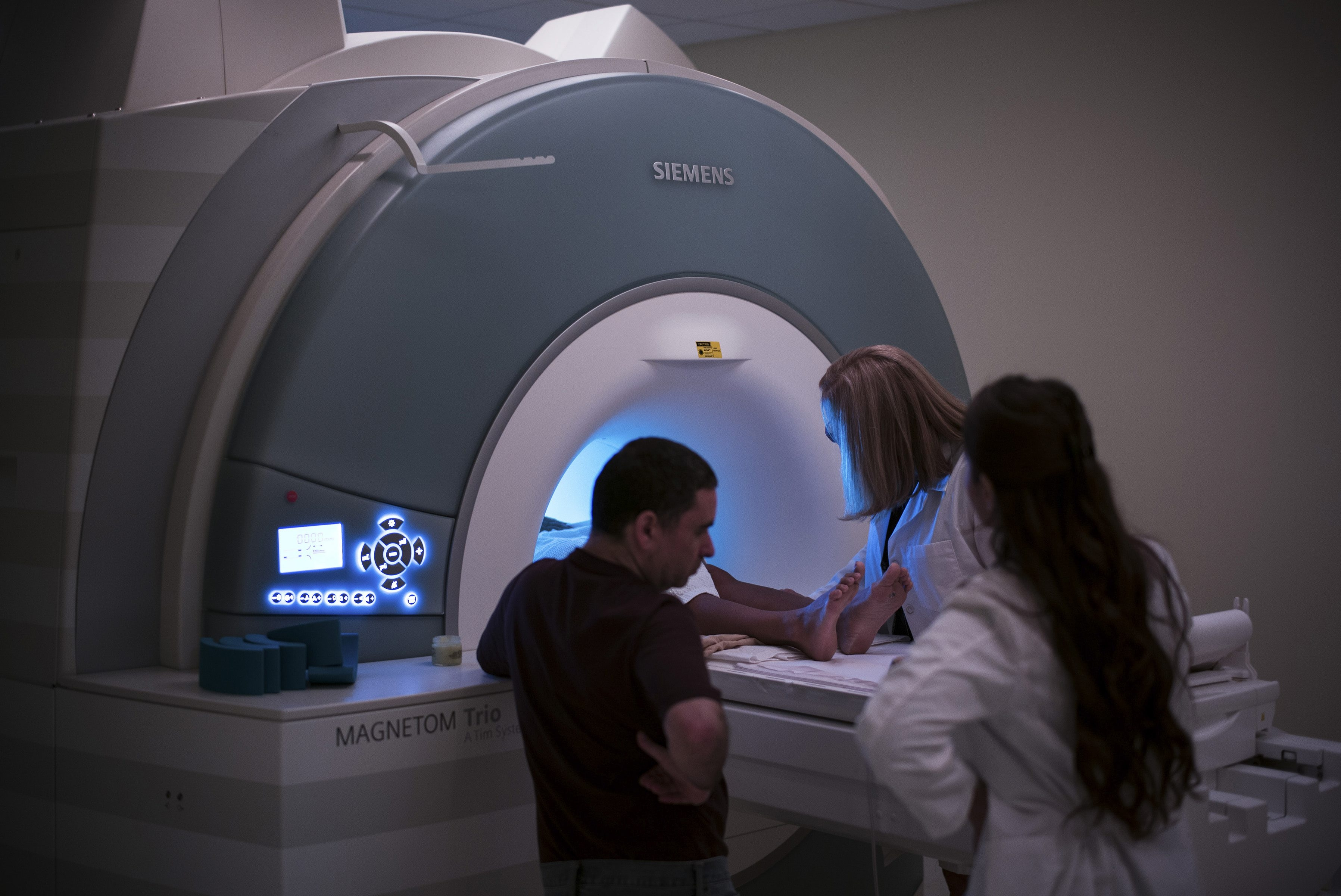 A law passed by New York State in 1966 requires health care providers to obtain permission from the State Health Department before adding new medical equipment, such as an MRI machine.