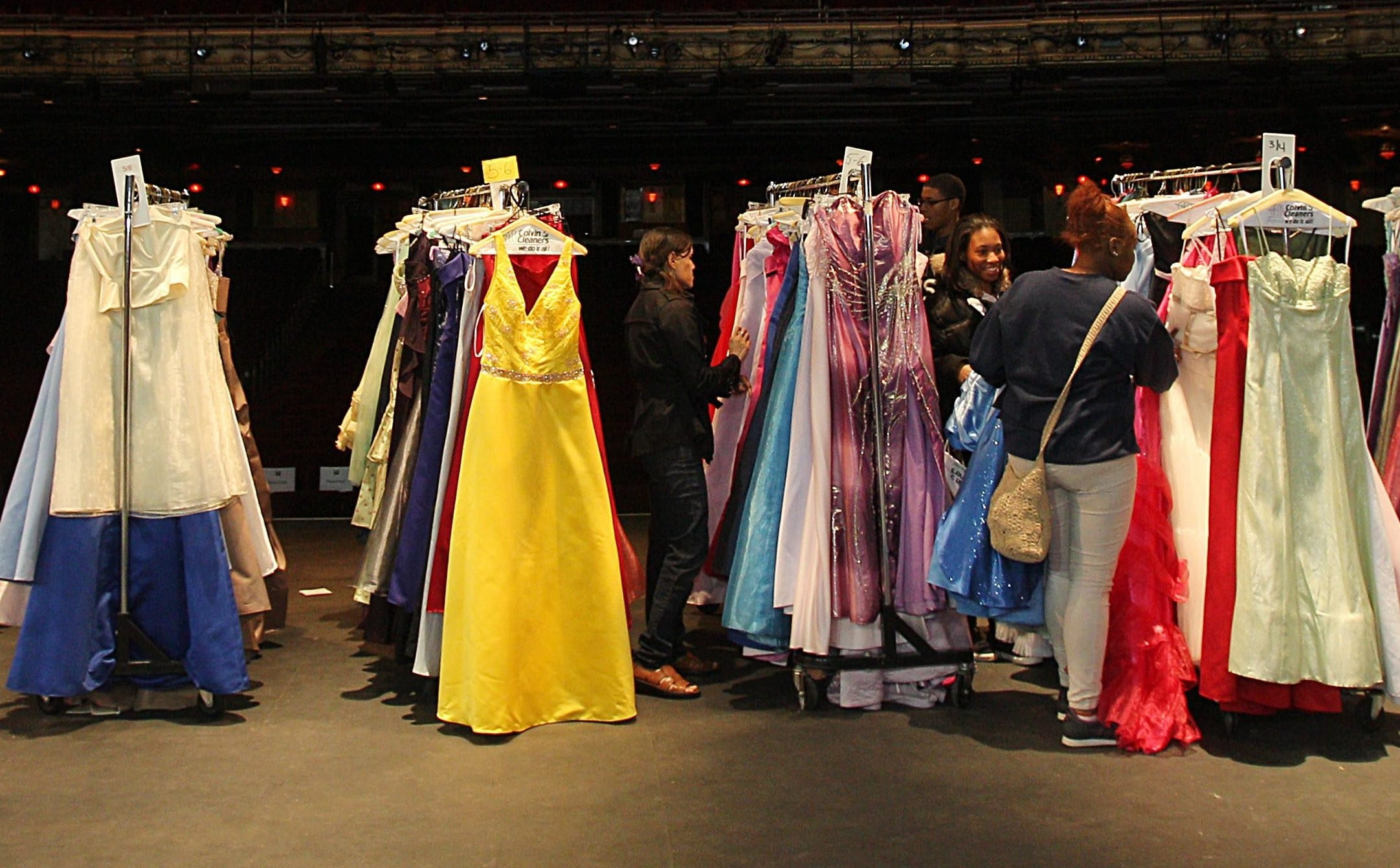 Gently used prom dresses will be collected for the seventh annual Prom Dress Drive. (Sharon Cantillon/Buffalo News file photo)
