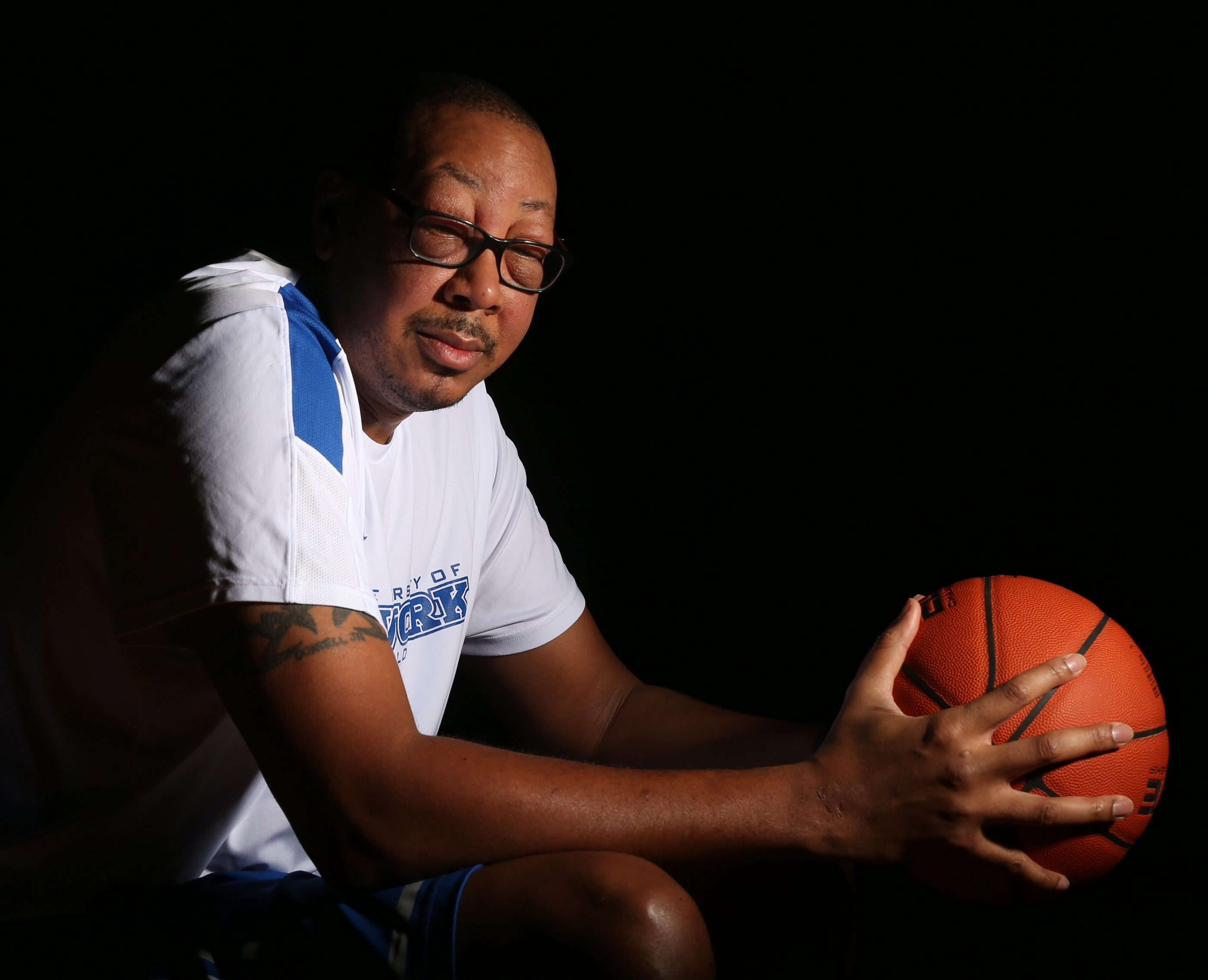 UB assistant and former NBA standout Donyell Marshall has