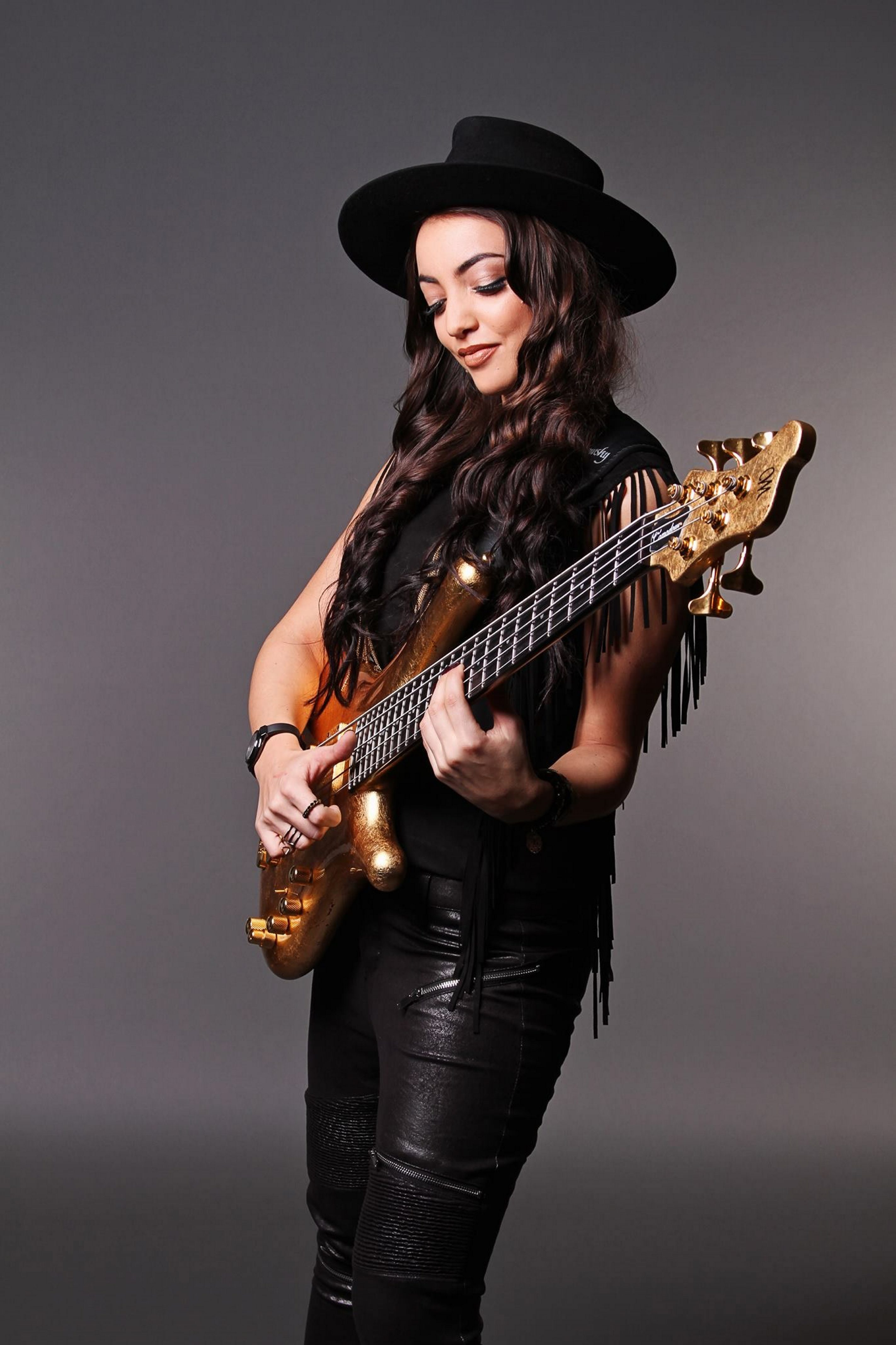 Bassist and YouTube sensation Alissia was one of the most buzzed-about artists at this year's NAMM convention.